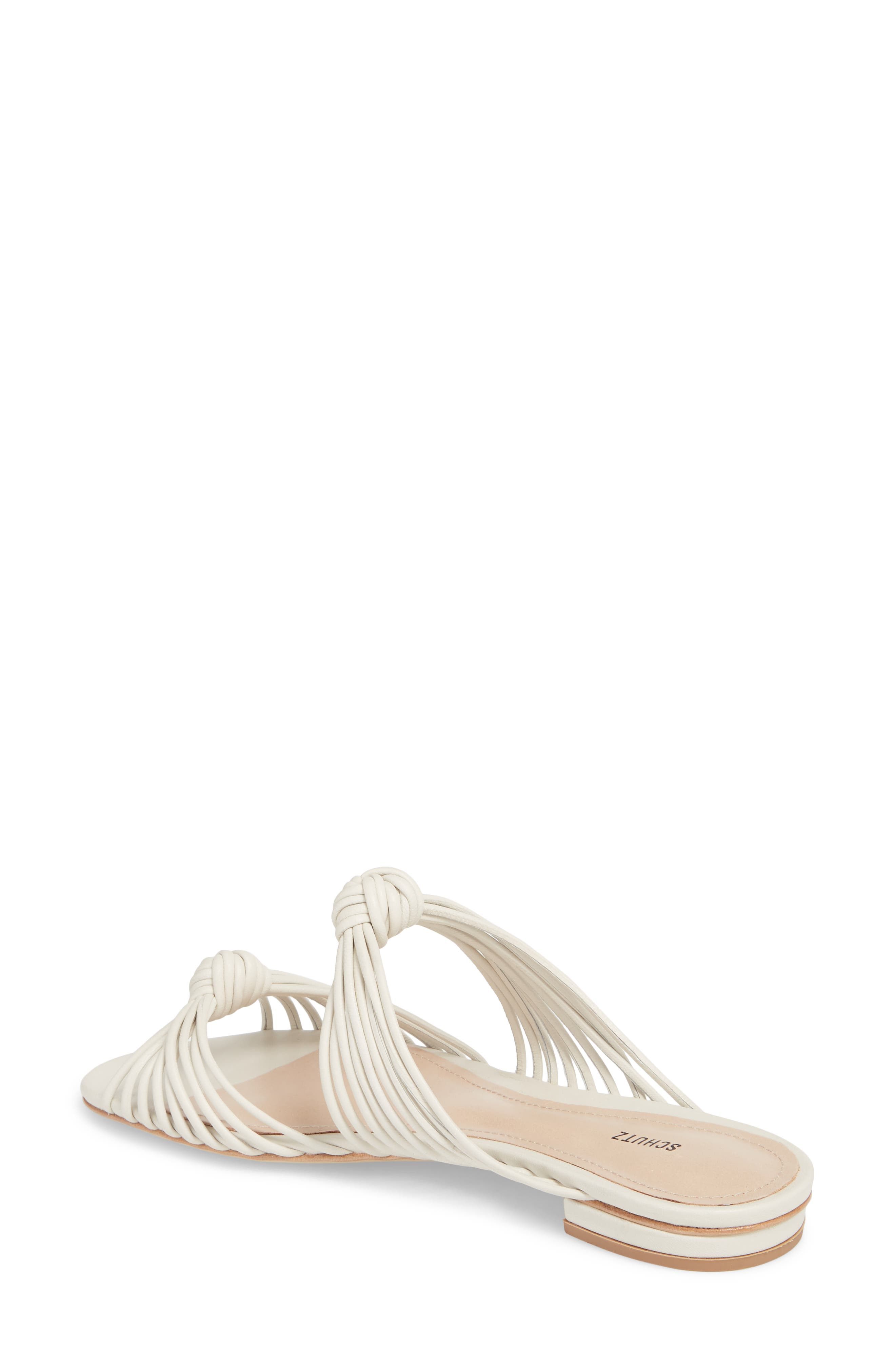 Nitiely Slide Sandal,                             Alternate thumbnail 2, color,                             Pearl Fabric