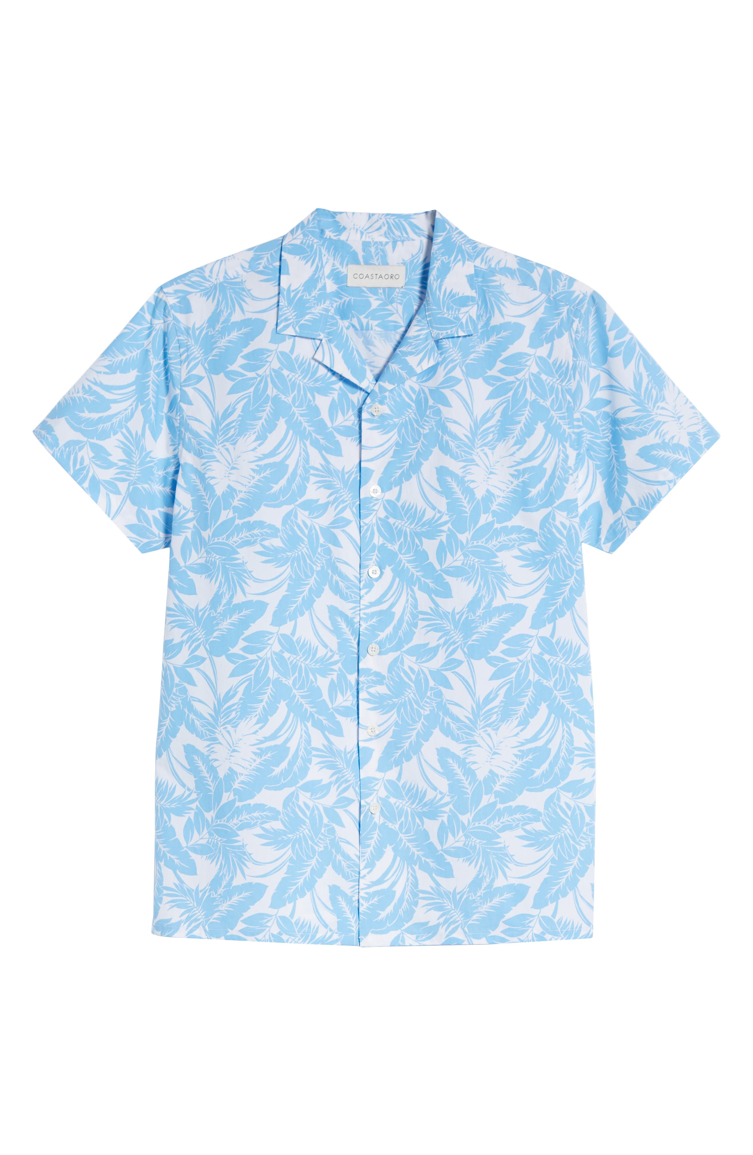 Camp Ventu Regular Fit Short Sleeve Sport Shirt,                             Alternate thumbnail 6, color,                             Sky