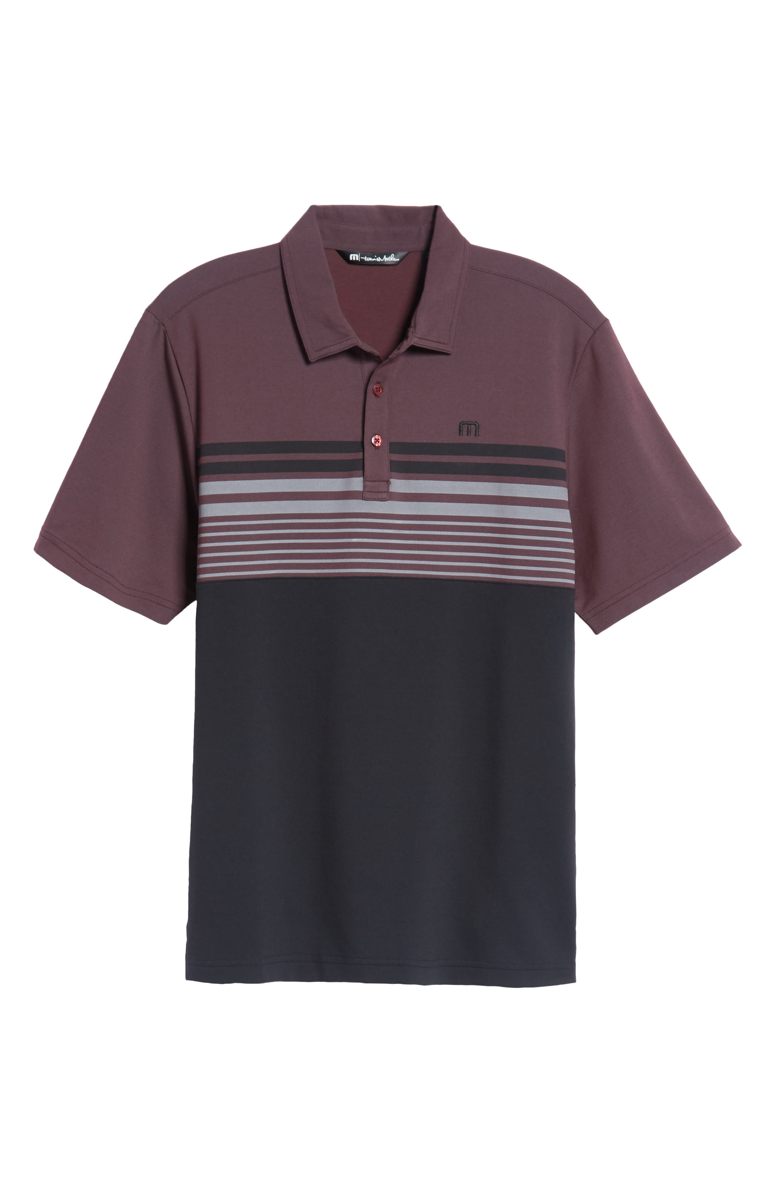 Boomer Polo Shirt,                             Alternate thumbnail 6, color,                             Winetasting