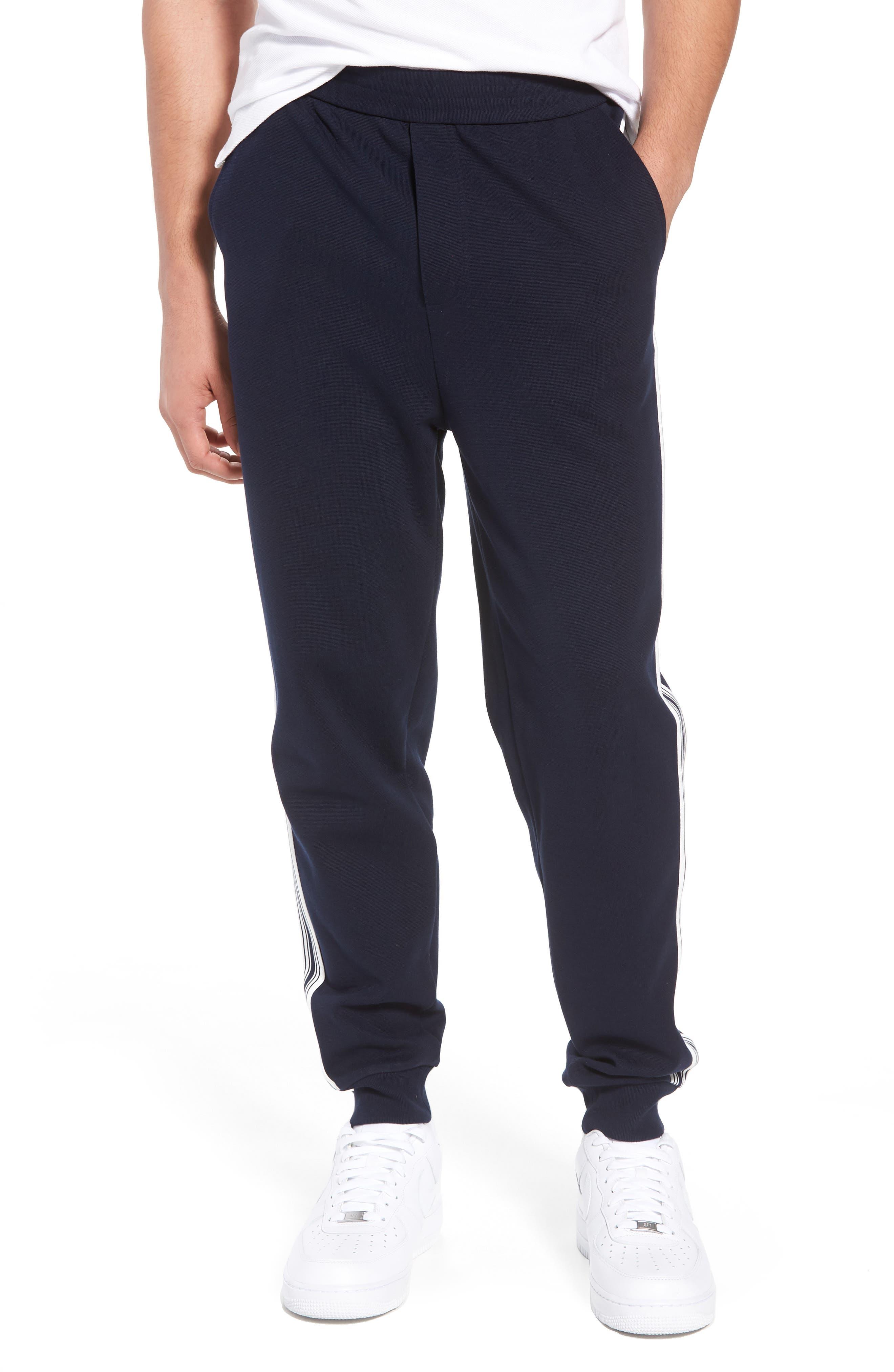 Milano Jogger Pants,                         Main,                         color, Navy Blue