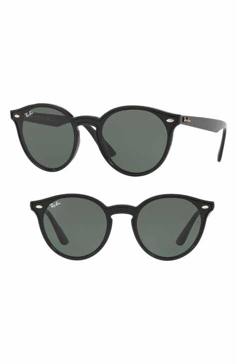 1790207350 Ray-Ban Blaze 37mm Round Sunglasses