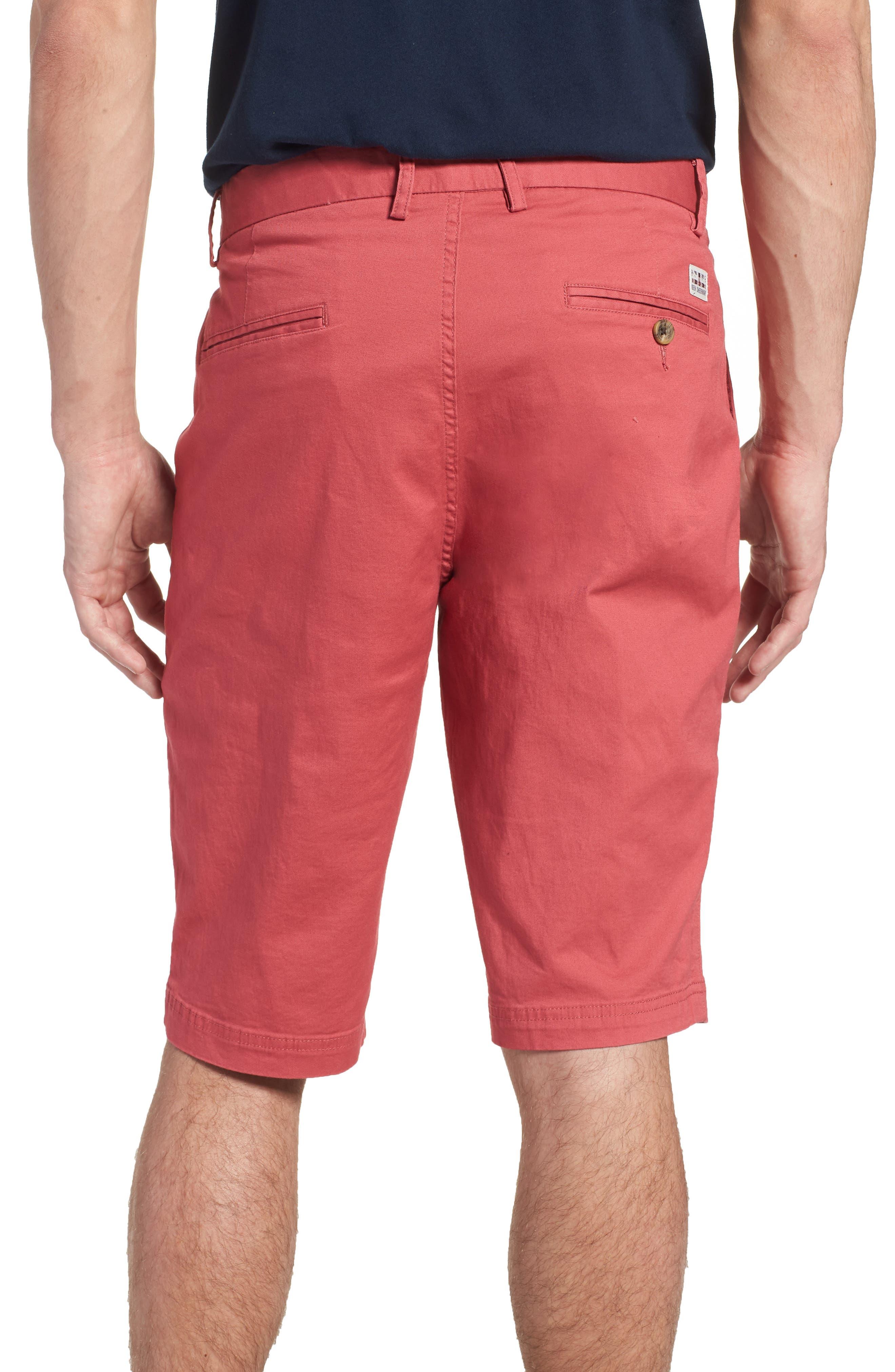Alternate Image 2  - Ben Sherman Slim Stretch Chino Shorts