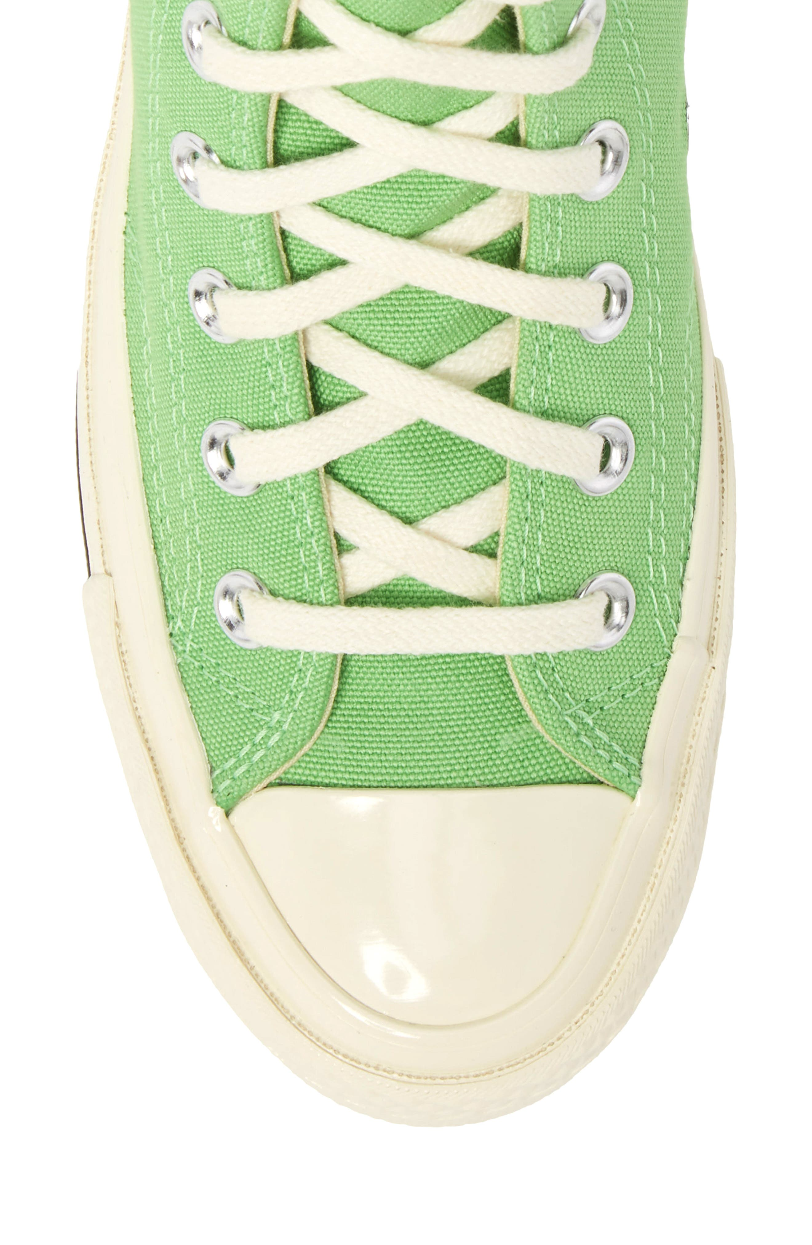 Chuck Taylor<sup>®</sup> All Star<sup>®</sup> 70 Brights High Top Sneaker,                             Alternate thumbnail 5, color,                             Illusion Green