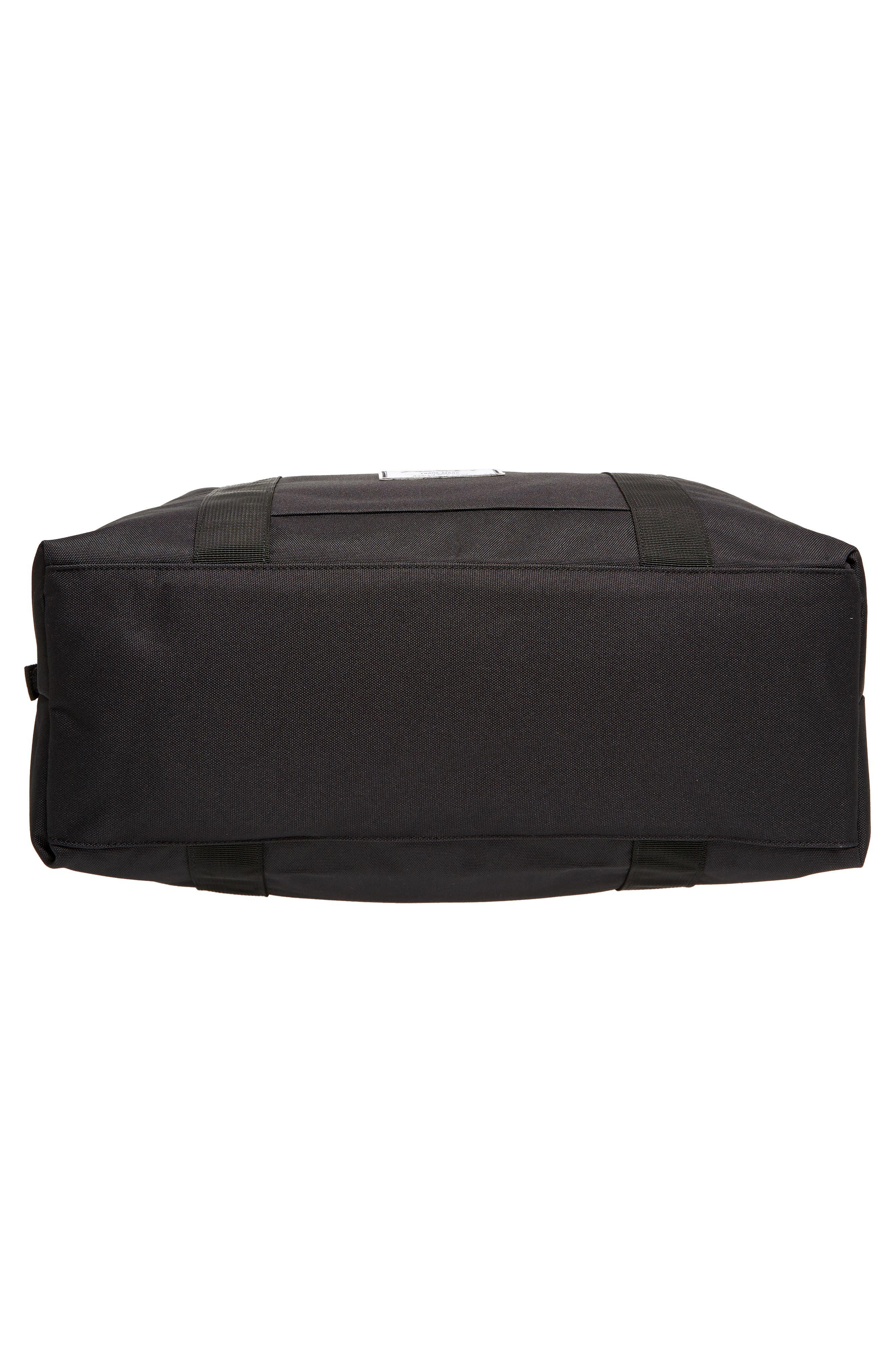Strand Duffel Bag,                             Alternate thumbnail 6, color,                             Black