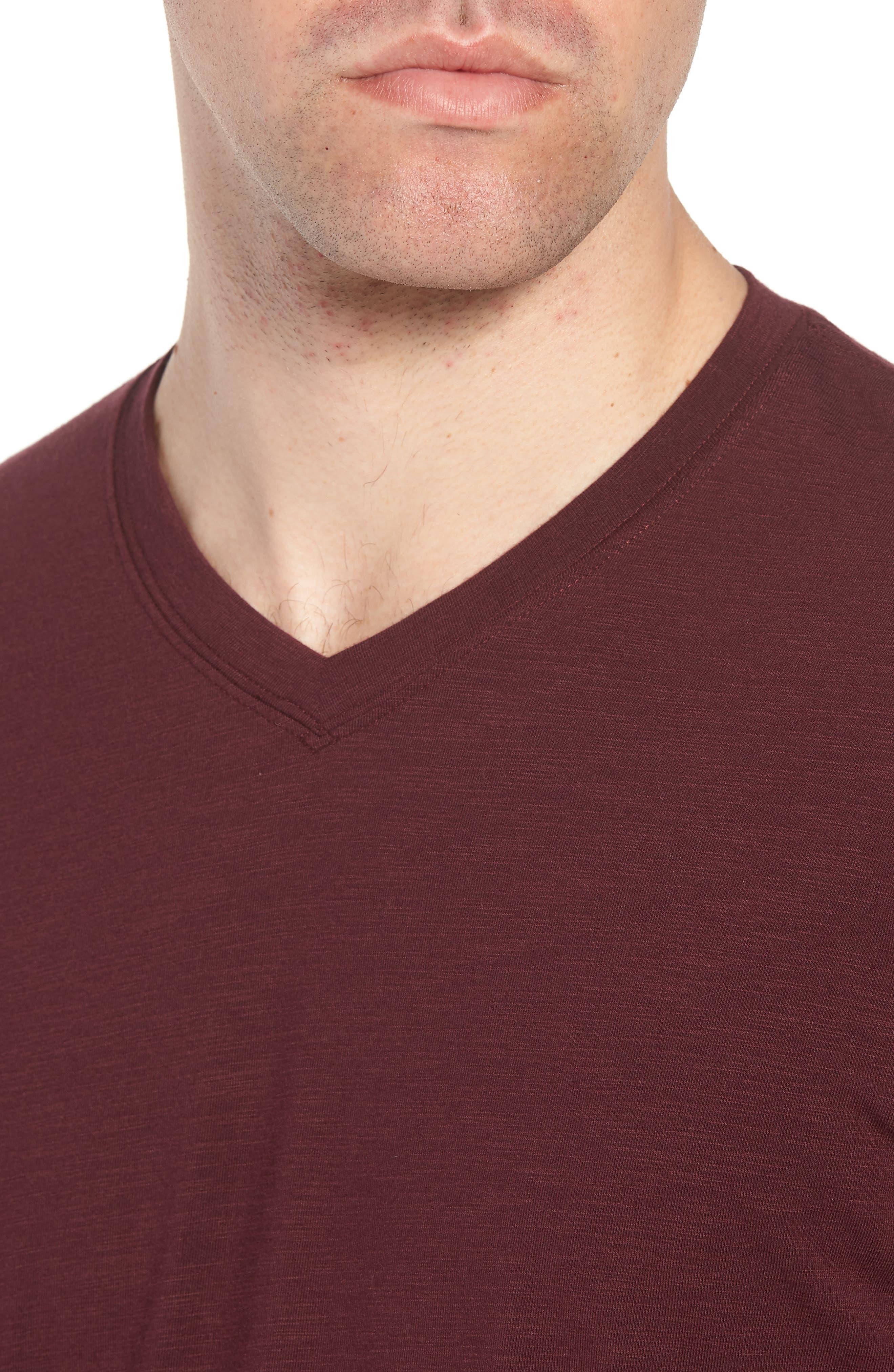 Alternate Image 4  - Travis Mathew 'Trumbull' Trim Fit Slubbed T-Shirt