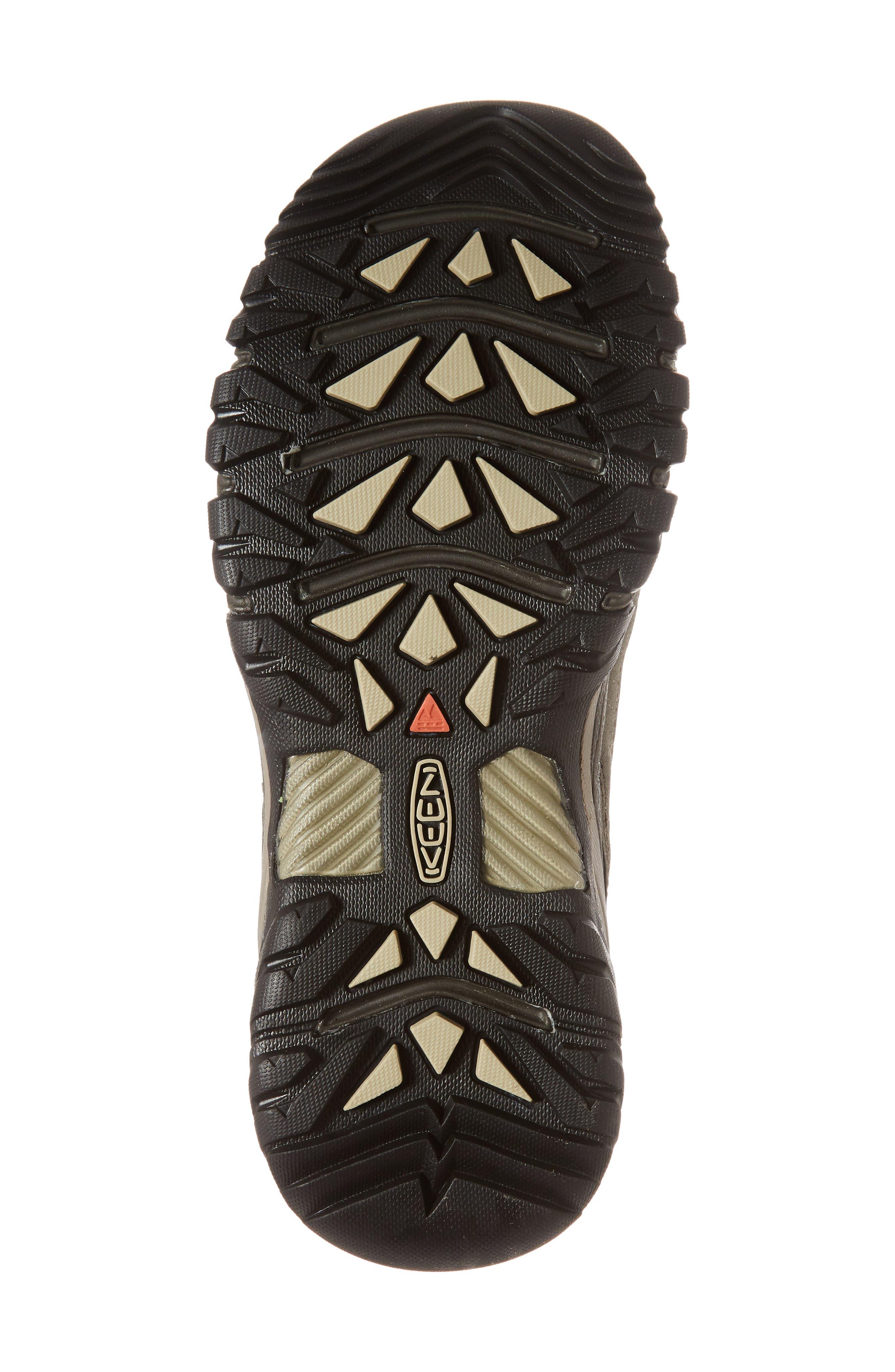 Targhee III Waterproof Hiking Shoe,                             Alternate thumbnail 6, color,                             Bungee Cord/Black