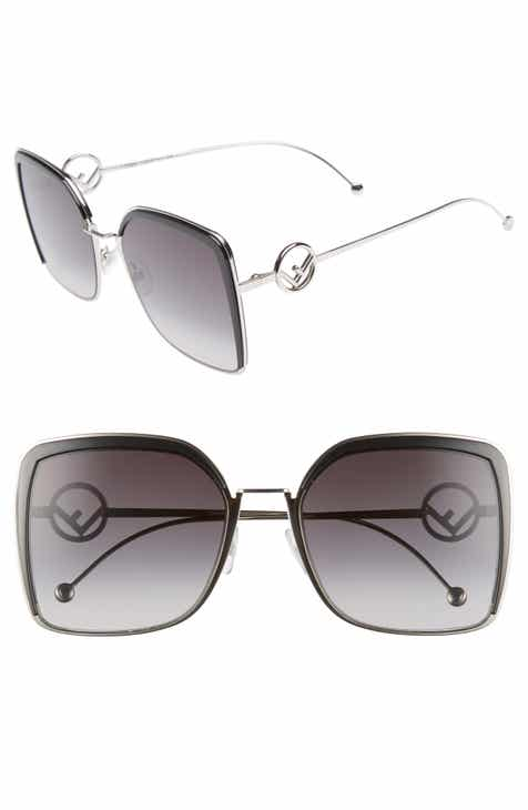 1abffe7ca3 Fendi 58mm Square Sunglasses