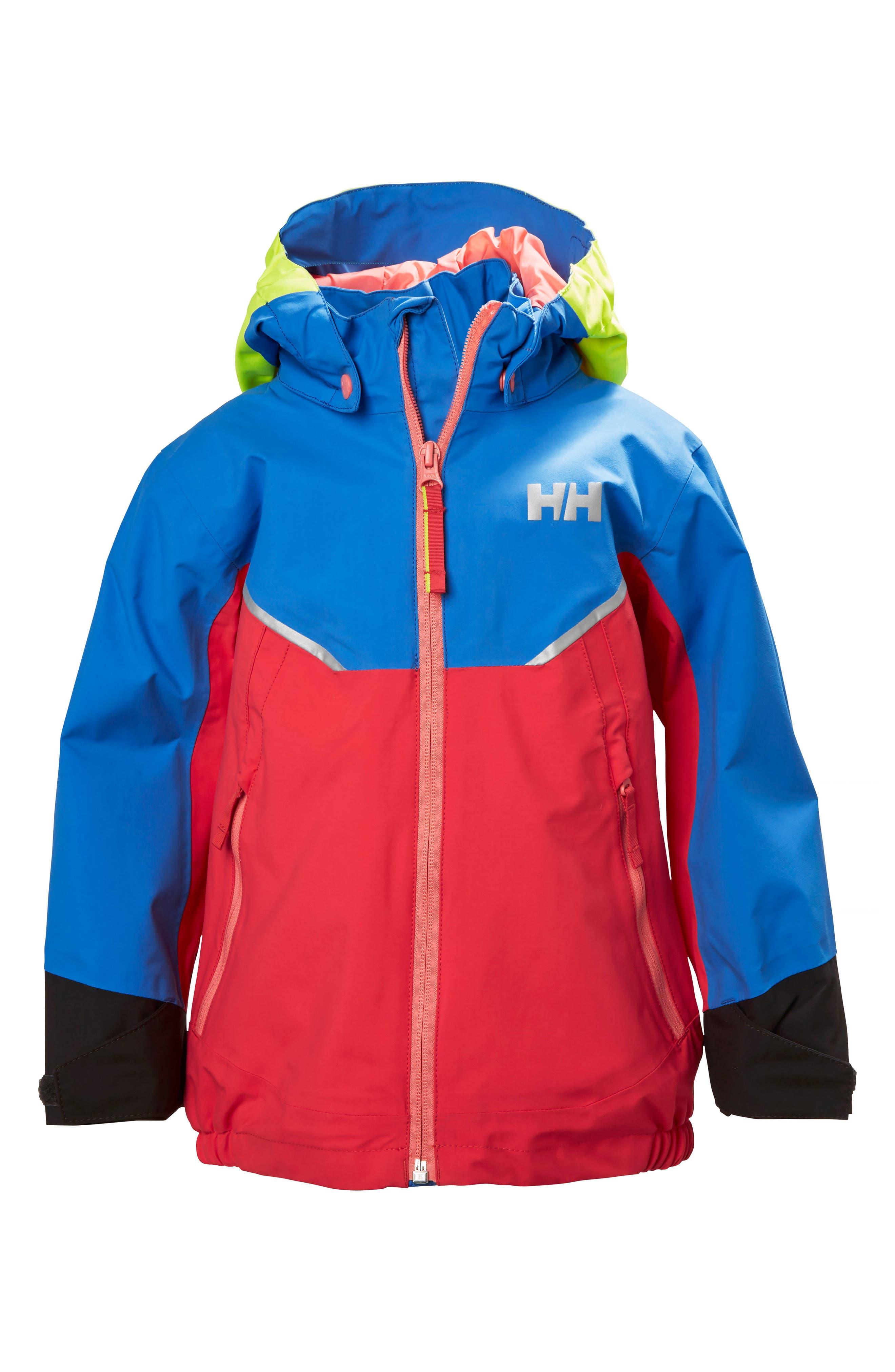 Helly Hansen Shelter Waterproof & Windproof Hooded Jacket (Toddler Boys & Little Boys)