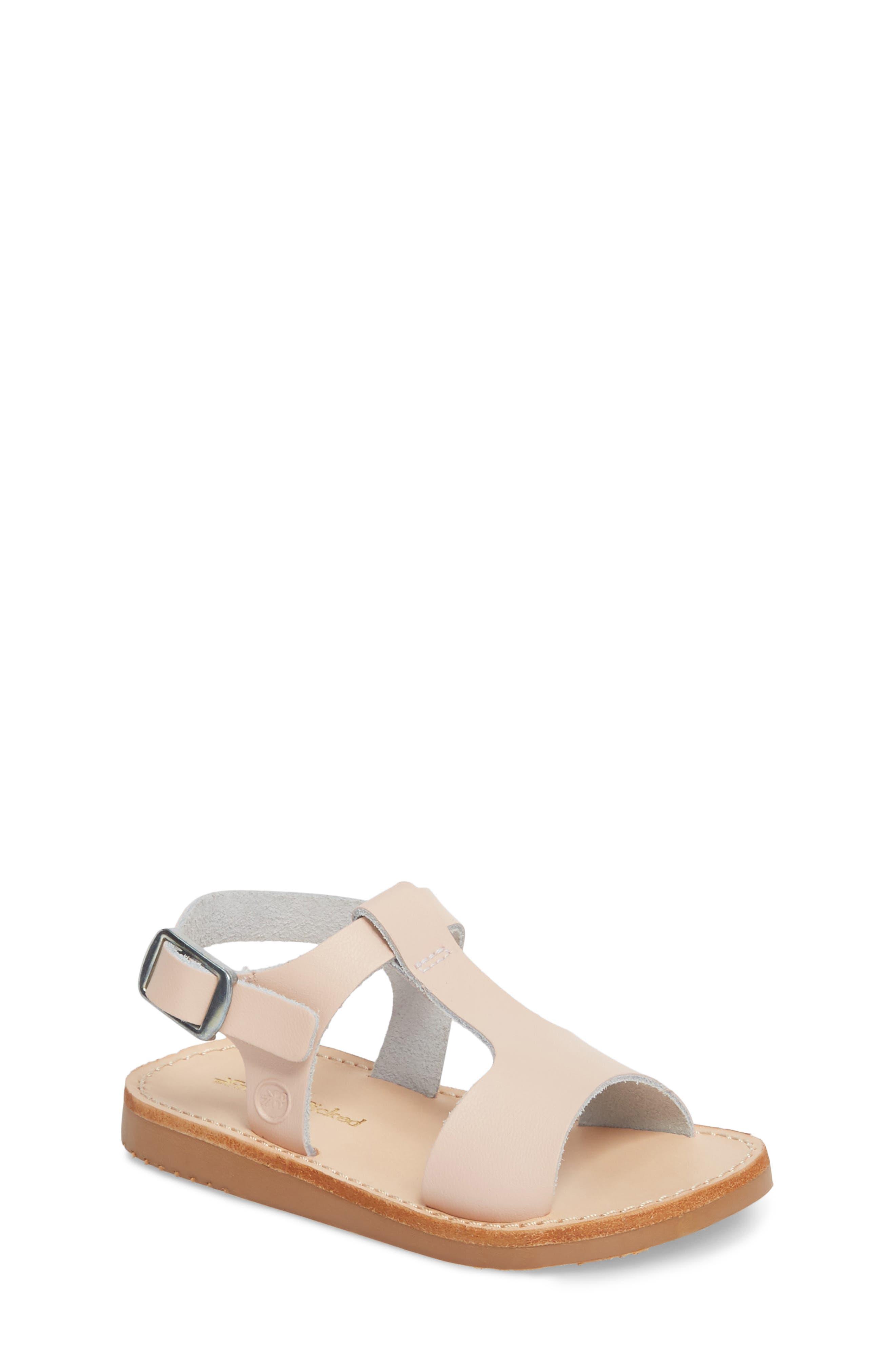 Malibu Water Resistant Sandal,                         Main,                         color, Blush
