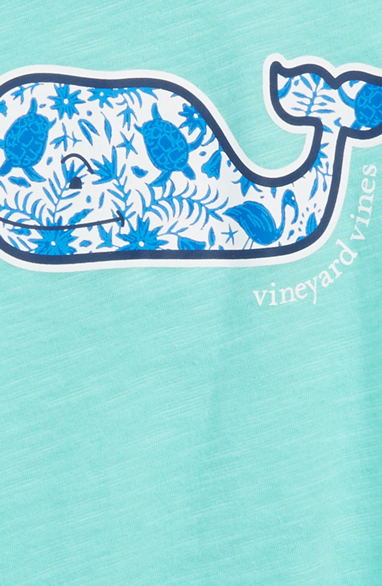 Otomi Whale Graphic Tee,                             Alternate thumbnail 2, color,                             Capri Blue