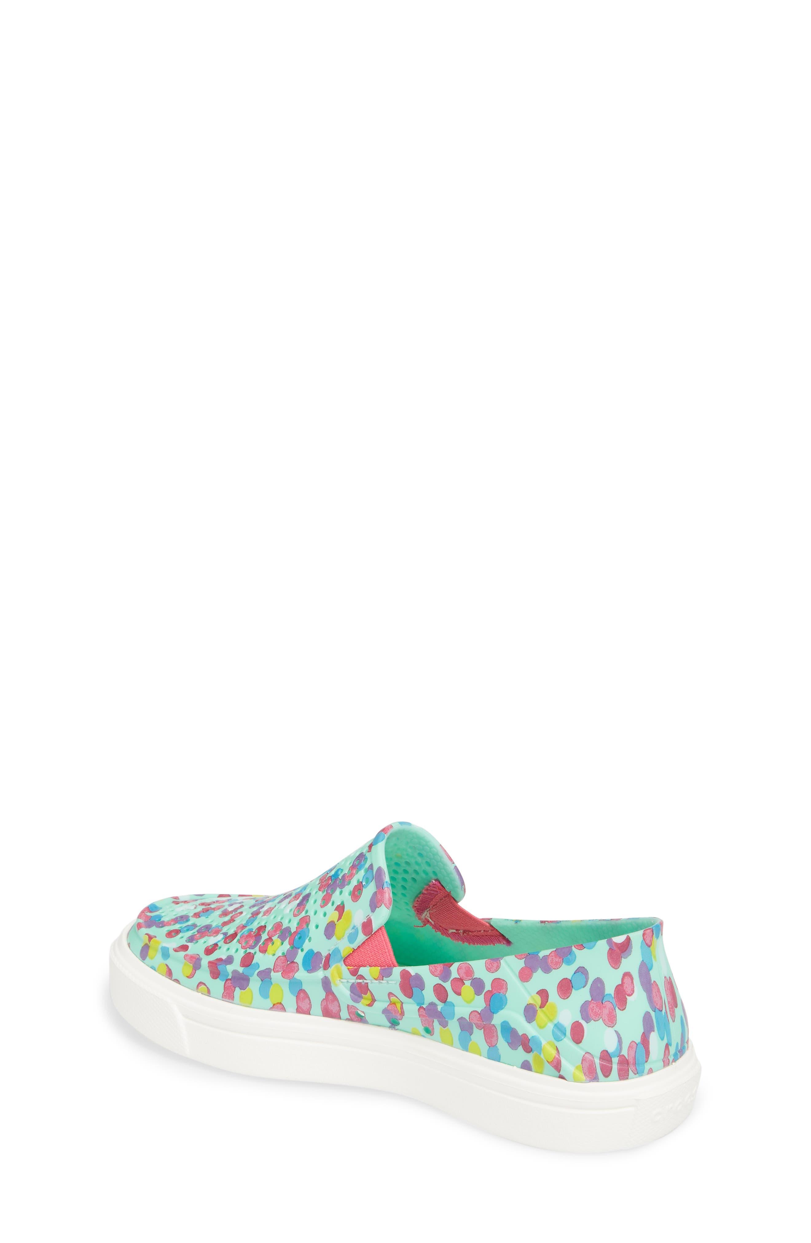 CitiLane Roka Graphic Slip-On Sneaker,                             Alternate thumbnail 2, color,                             Multi/ Mint