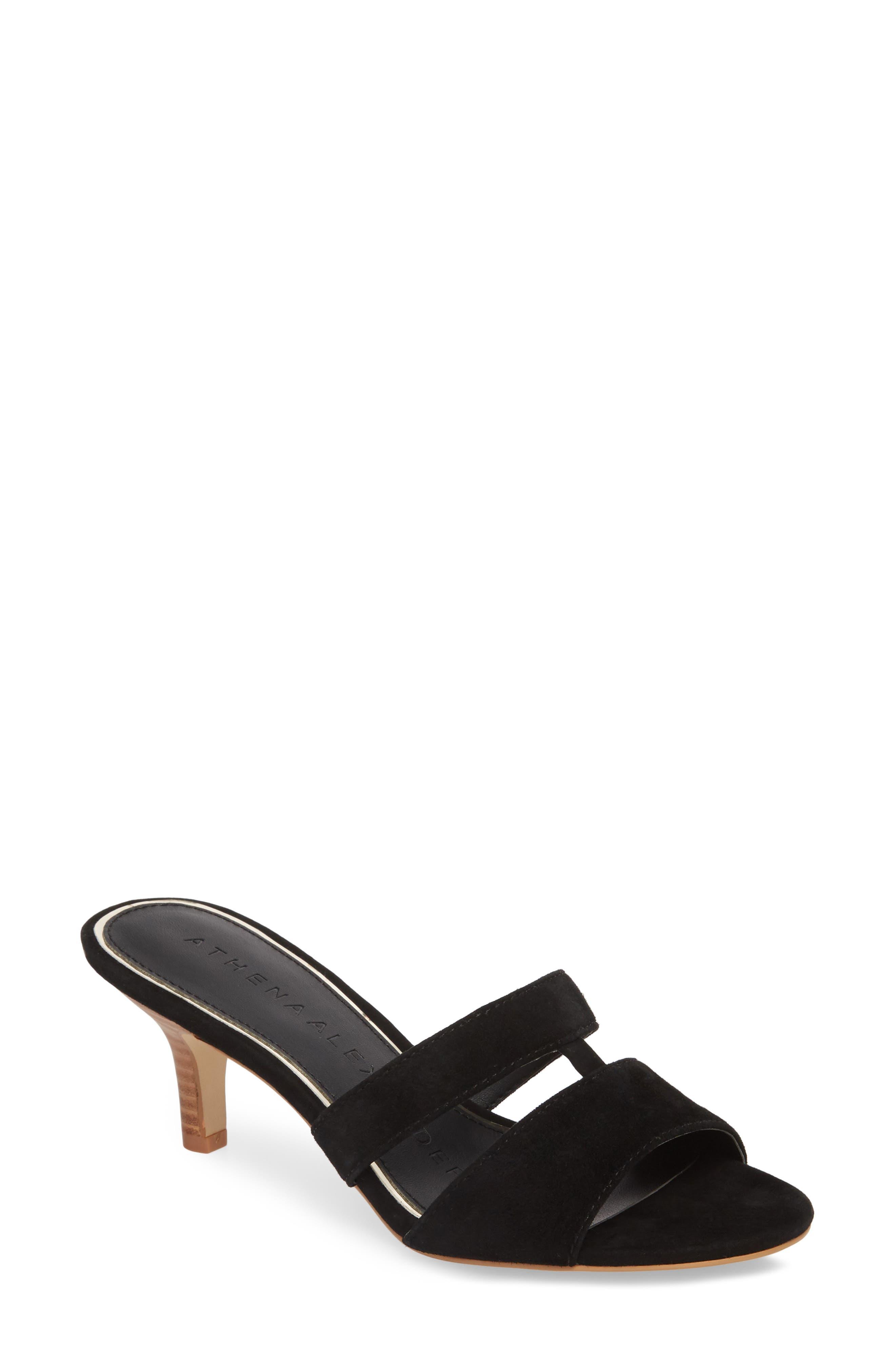 Womens Athena Alexander Amore Sandals Black TSL30539