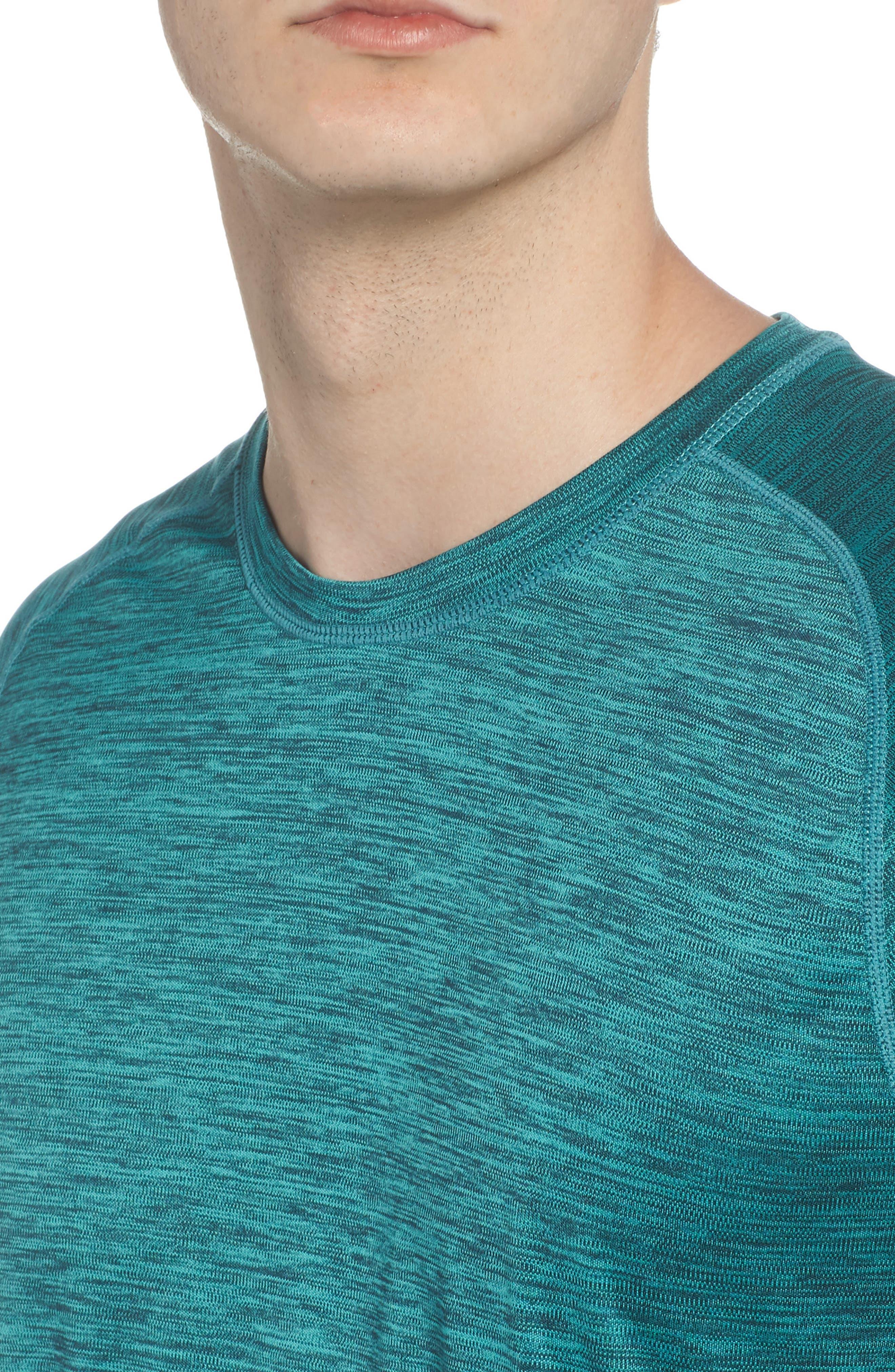 Triplite T-Shirt,                             Alternate thumbnail 4, color,                             Teal Tourmaline Melange