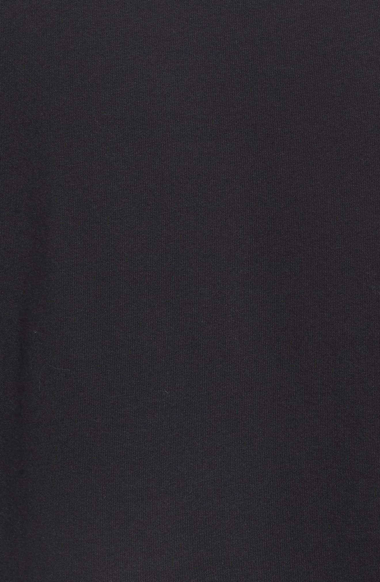 Sportswear Graphic T-Shirt,                             Alternate thumbnail 5, color,                             Black