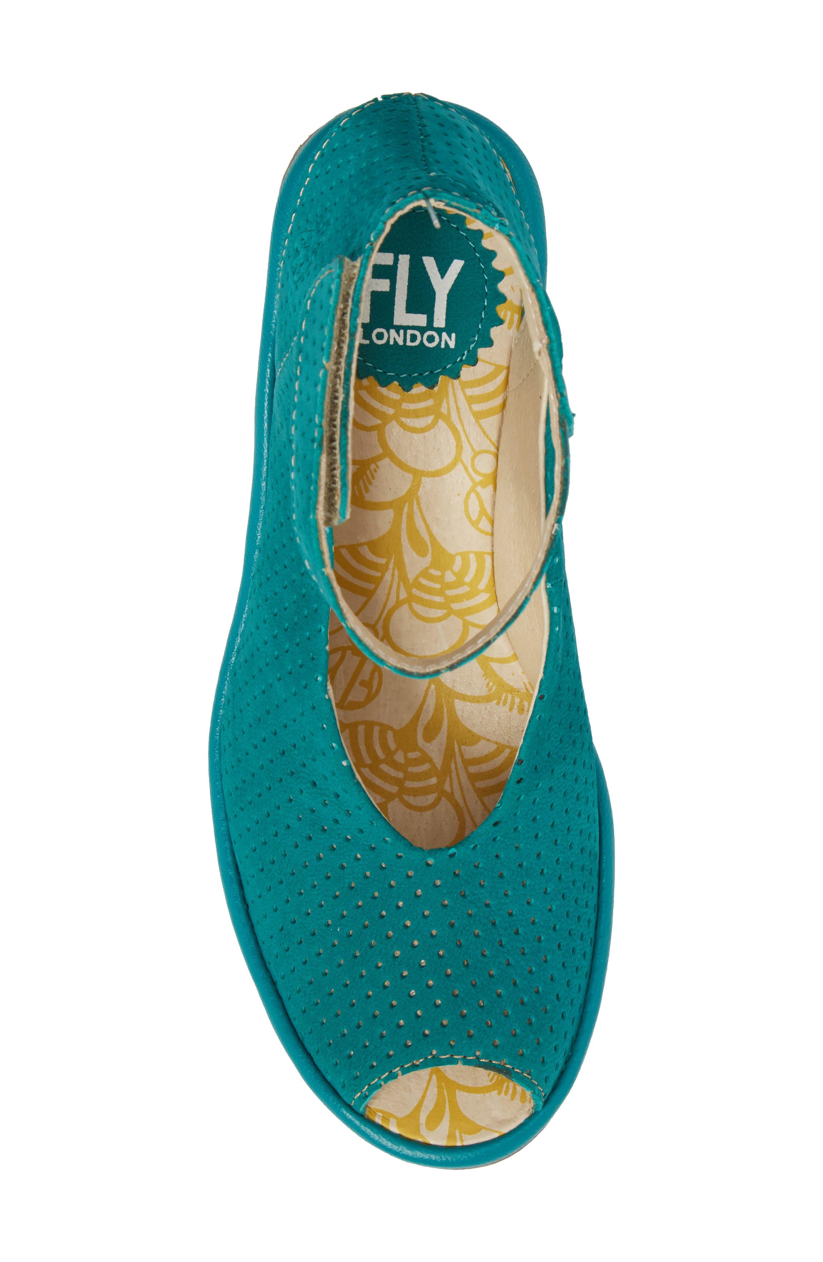 Alternate Image 5  - Fly London 'Yala' Perforated Leather Sandal