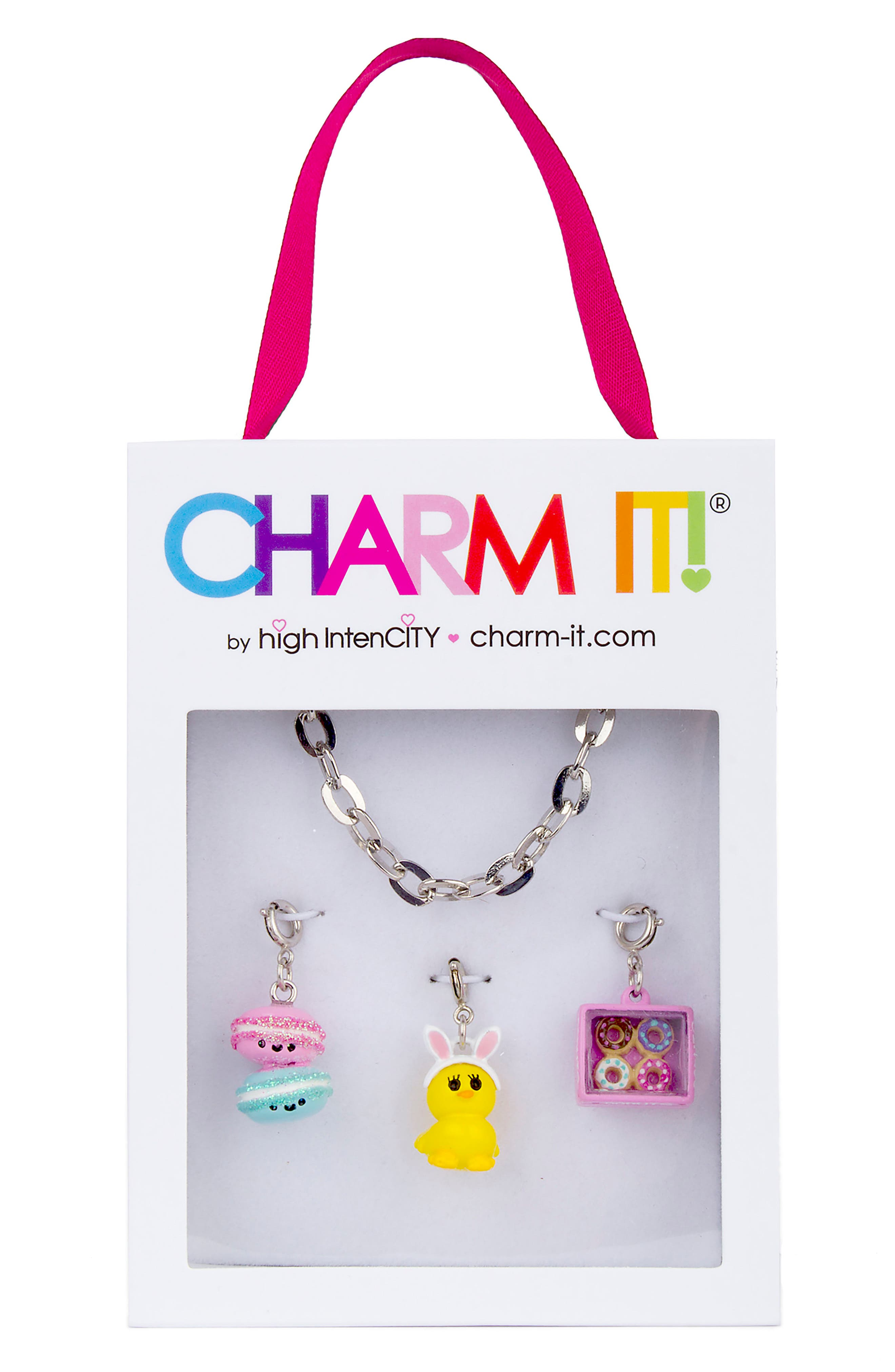 CHARM IT!<sup>®</sup> Easter Sweets Charm Bracelet Gift Set,                             Alternate thumbnail 2, color,                             Multi