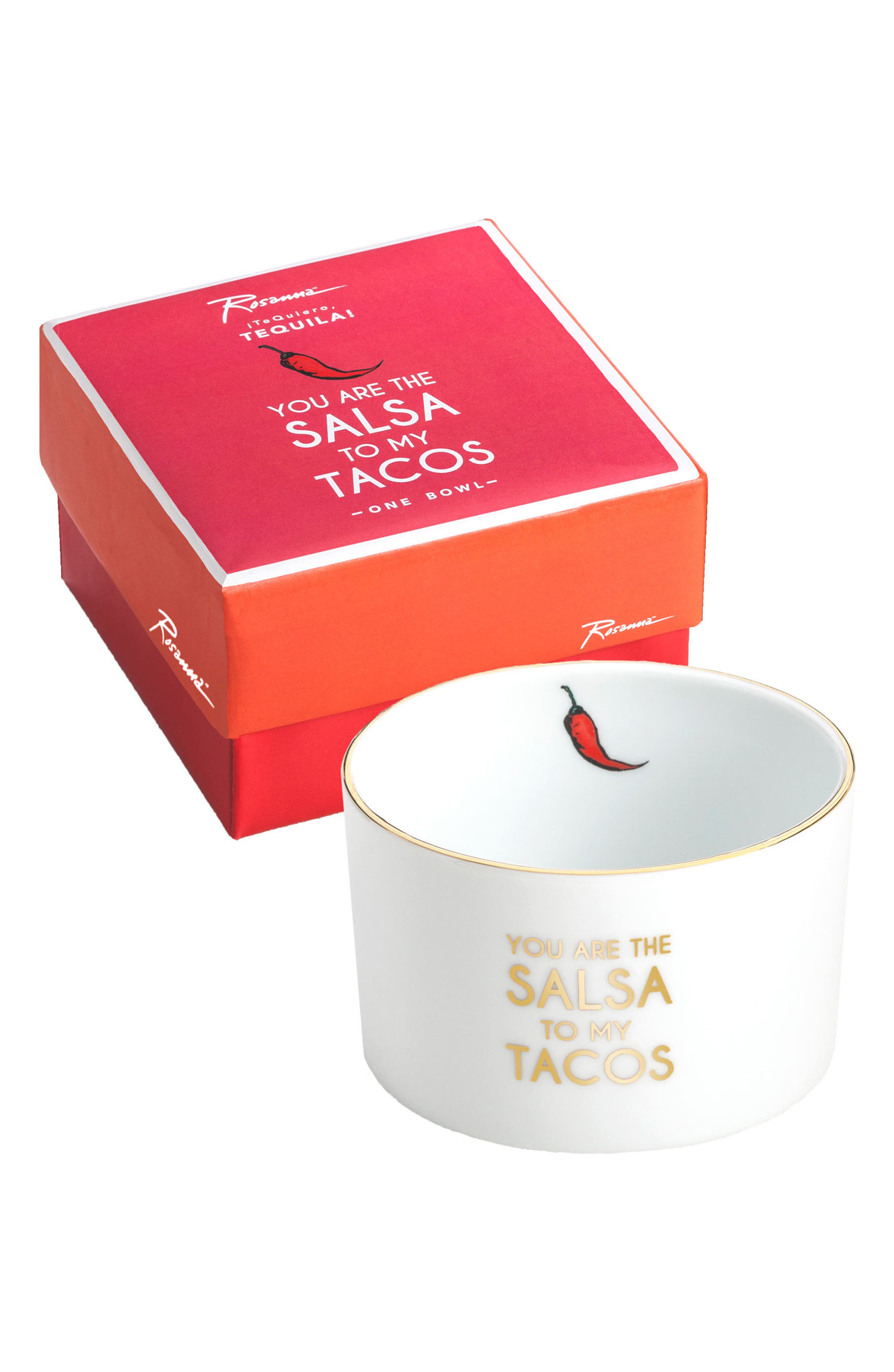 Te Quiero, Tequila! - You Are the Salsa to my Taco Bowl,                         Main,                         color, White Multi