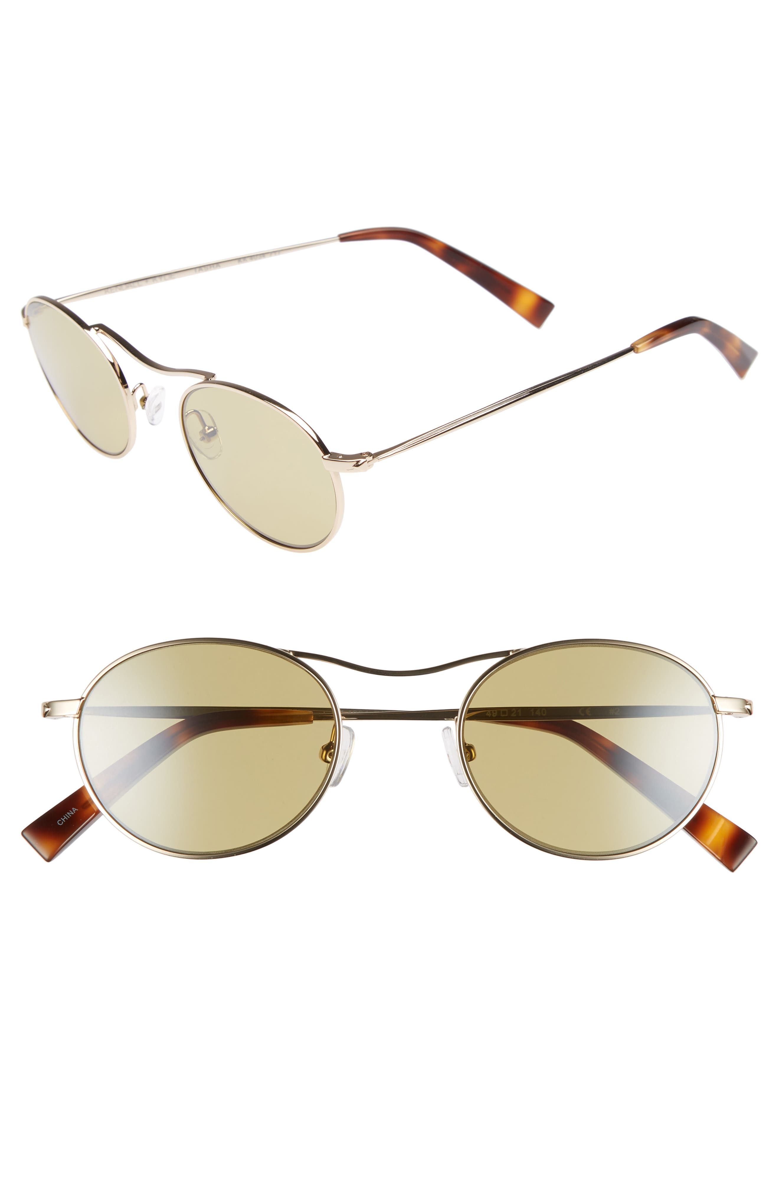 KENDALL + KYLIE Tasha 49mm Oval Sunglasses