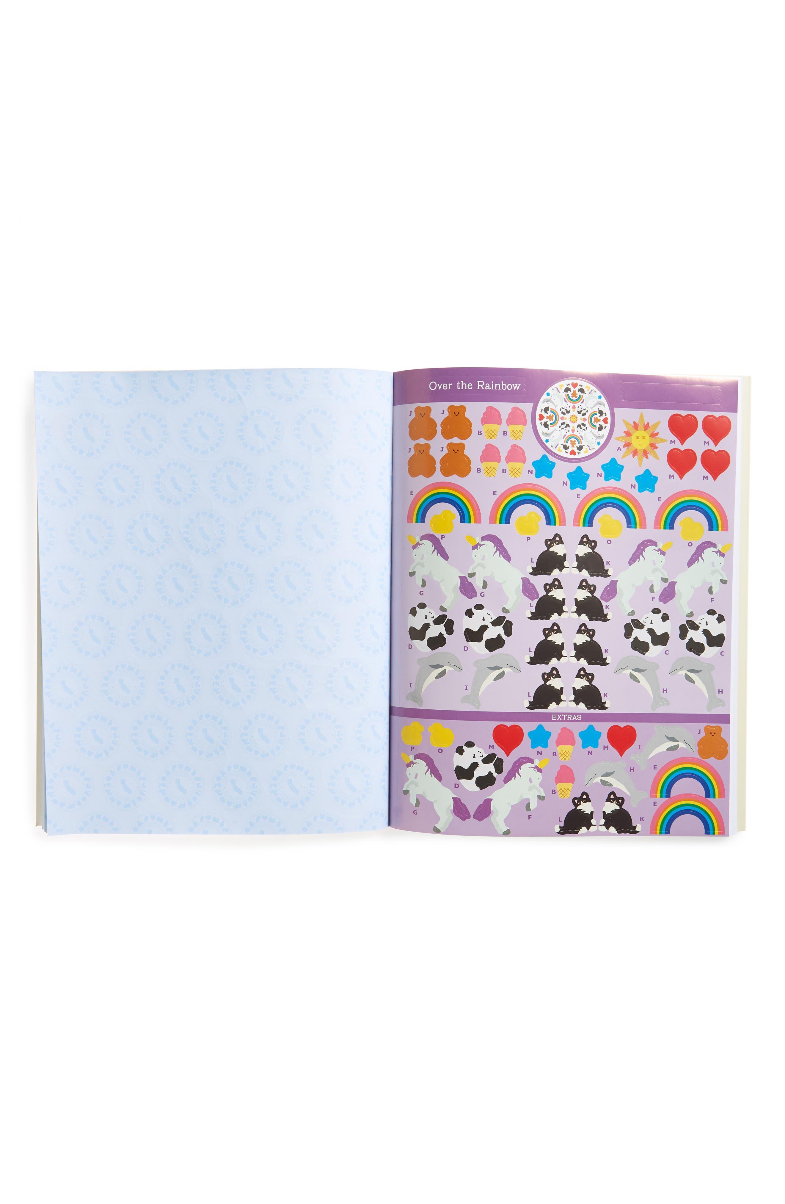Mrs. Grossman's Everyday Favorites Kaleidoscopes Sticker Book,                             Alternate thumbnail 2, color,                             Blue