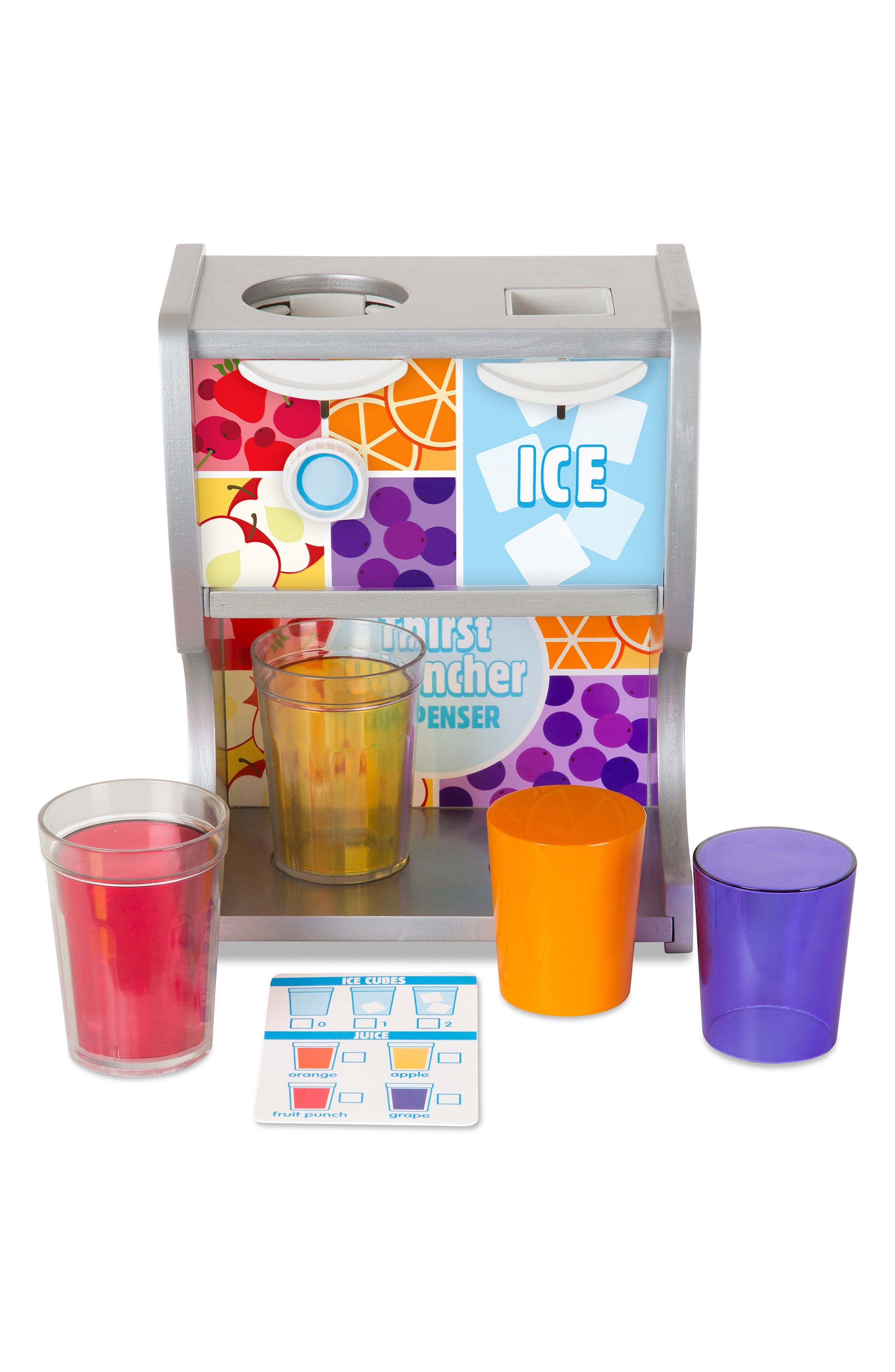 Thirst Quencher Dispenser,                         Main,                         color, Multi