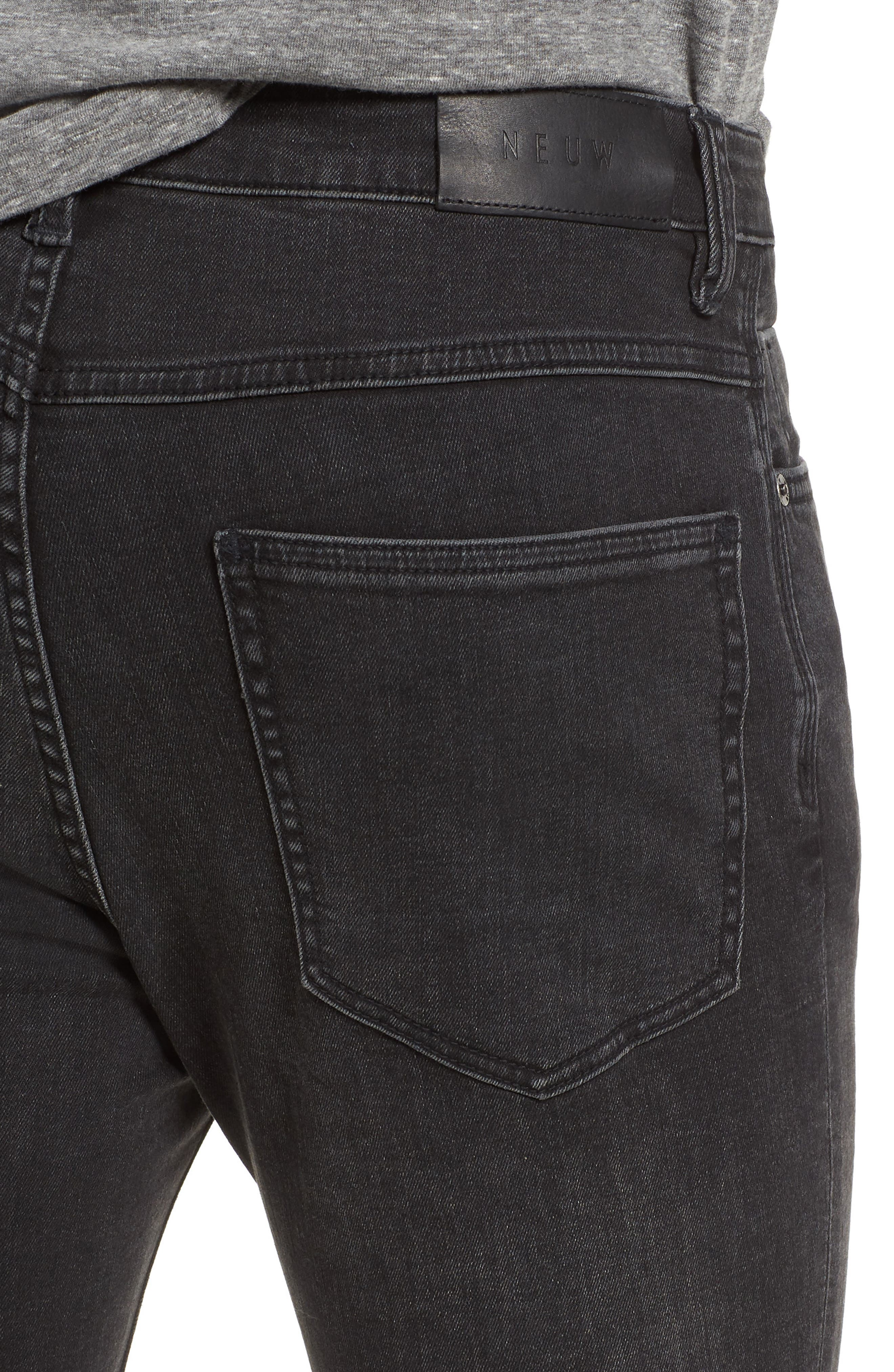 Iggy Skinny Fit Jeans,                             Alternate thumbnail 4, color,                             Wolfgang