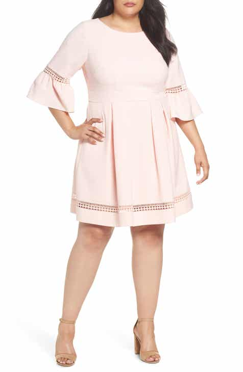 Pink Plus Size Dresses Nordstrom