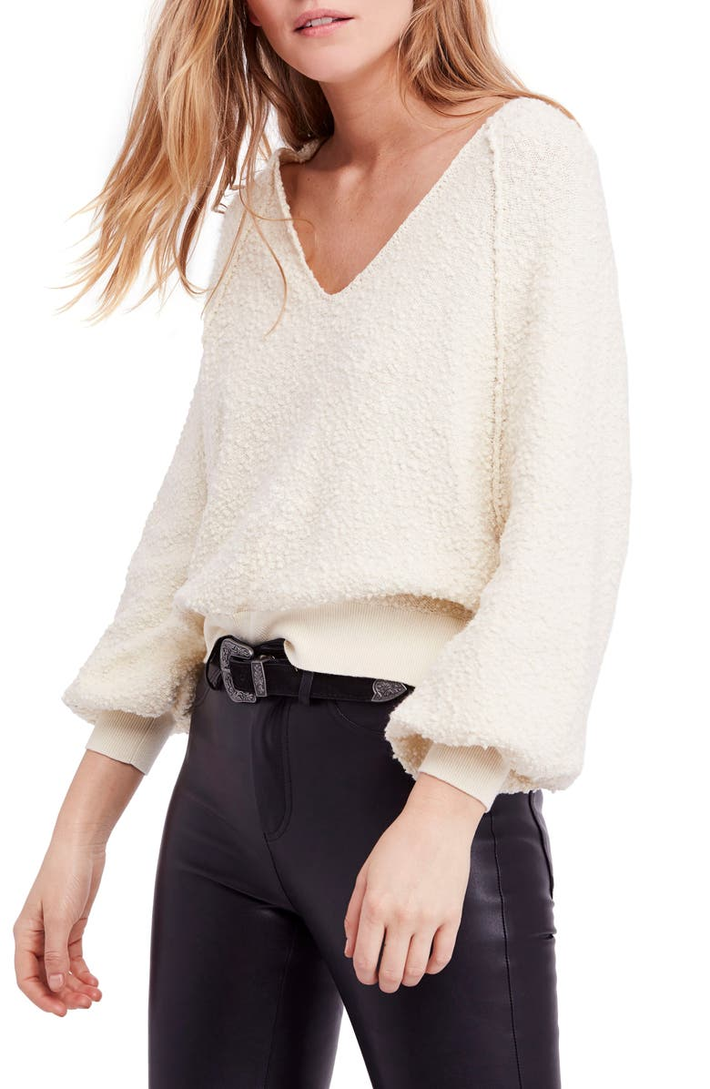 Found My Friend Sweater,                         Main,                         color, Cream