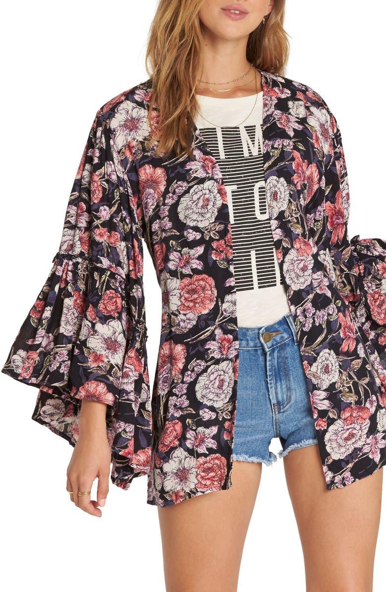 All Flored Floral Kimono