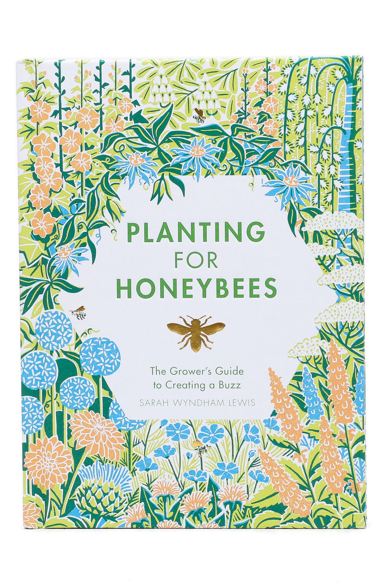 Planting For Honeybees Book,                         Main,                         color, Blue/ Green Multi