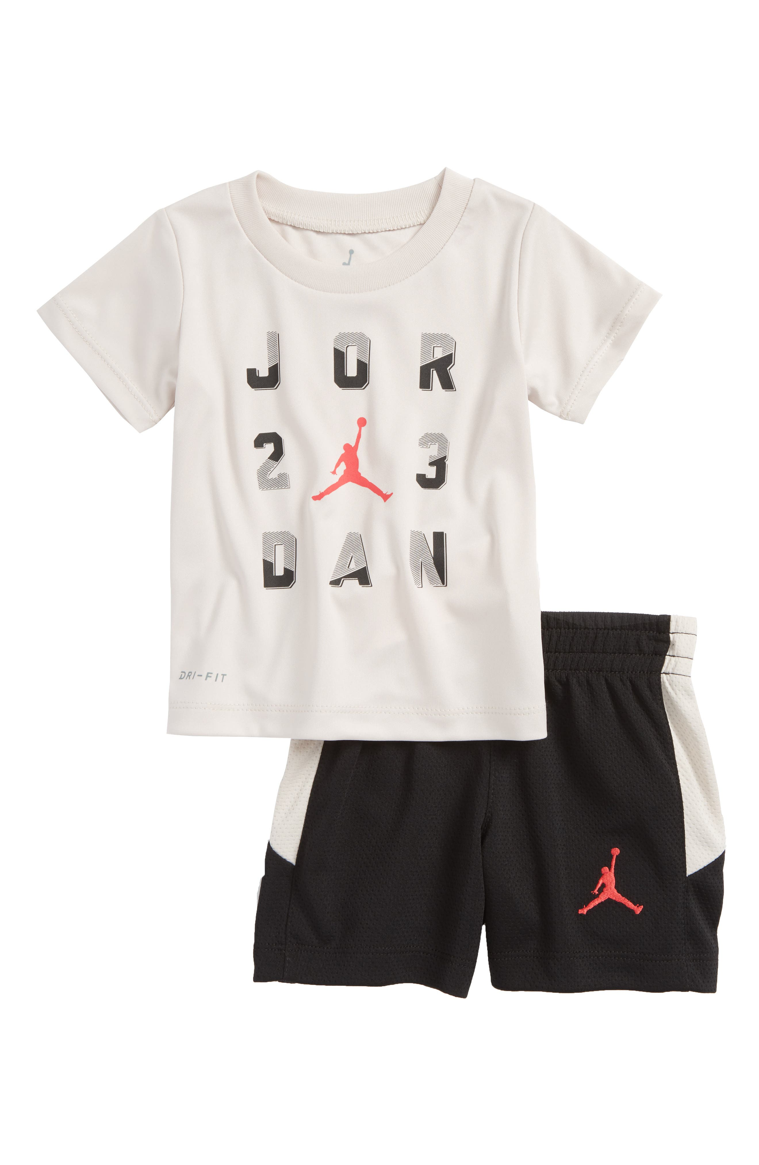Alternate Image 1 Selected - Jordan 23 T-Shirt & Shorts Set (Baby Boys)