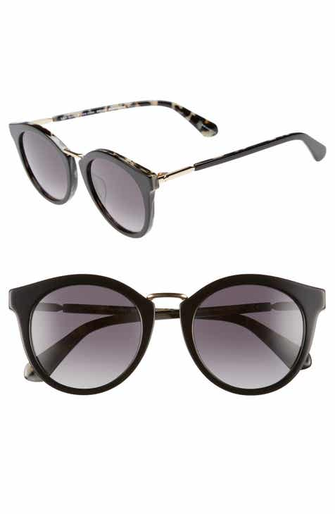 ce42428121 kate spade new york joylyn 50mm round sunglasses