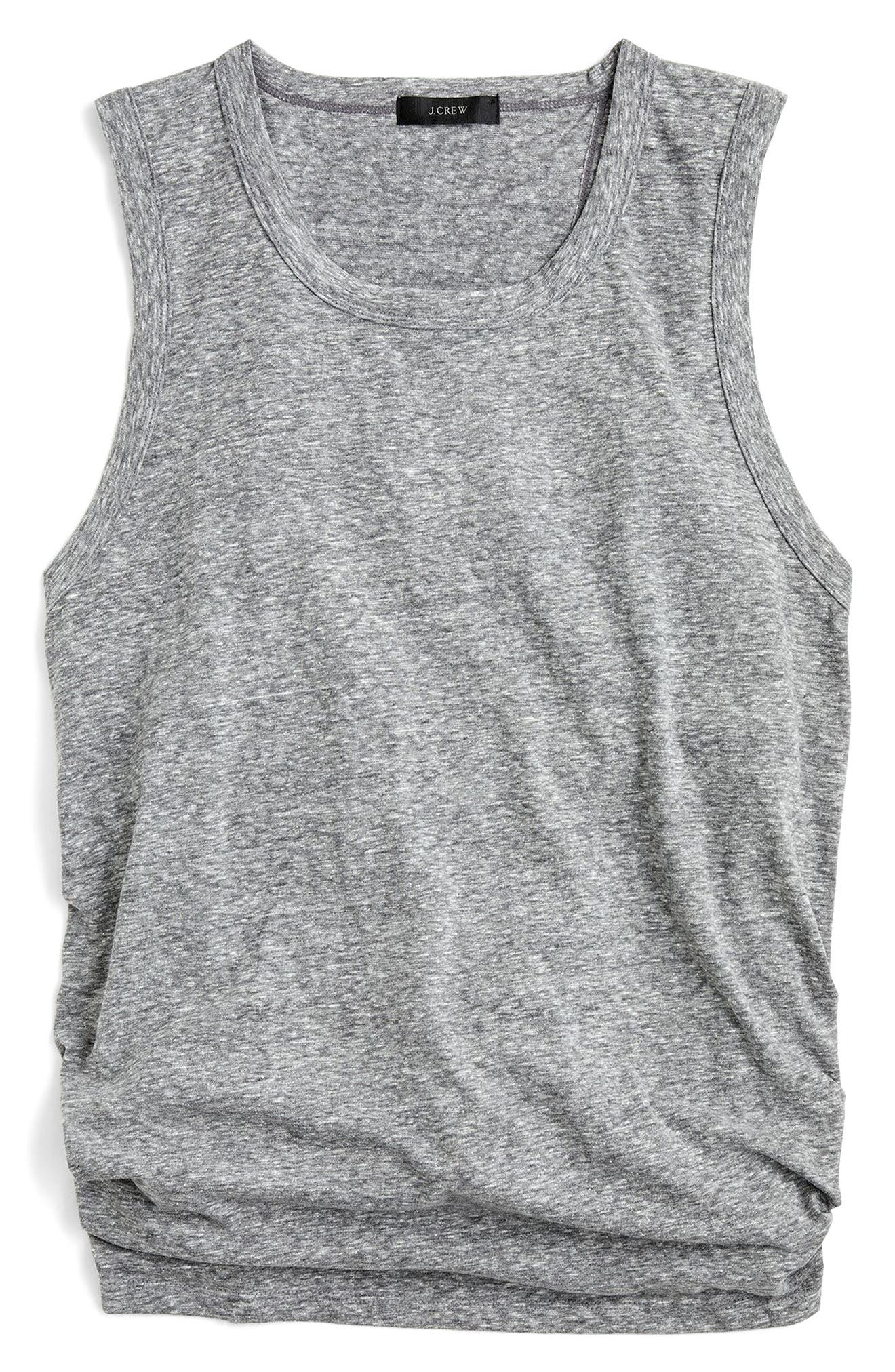 J.Crew Tie-Back Tank Top