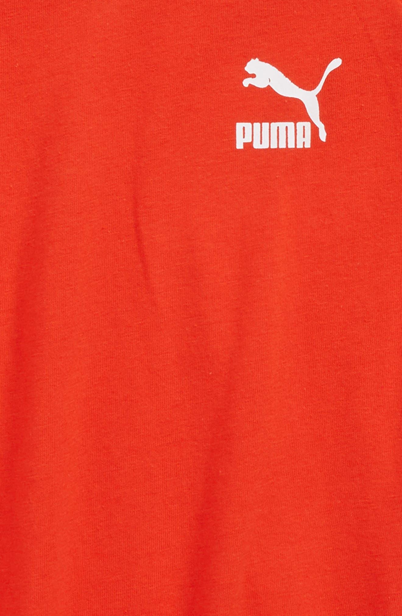 Alternate Image 2  - PUMA Logo T-Shirt (Big Boys)