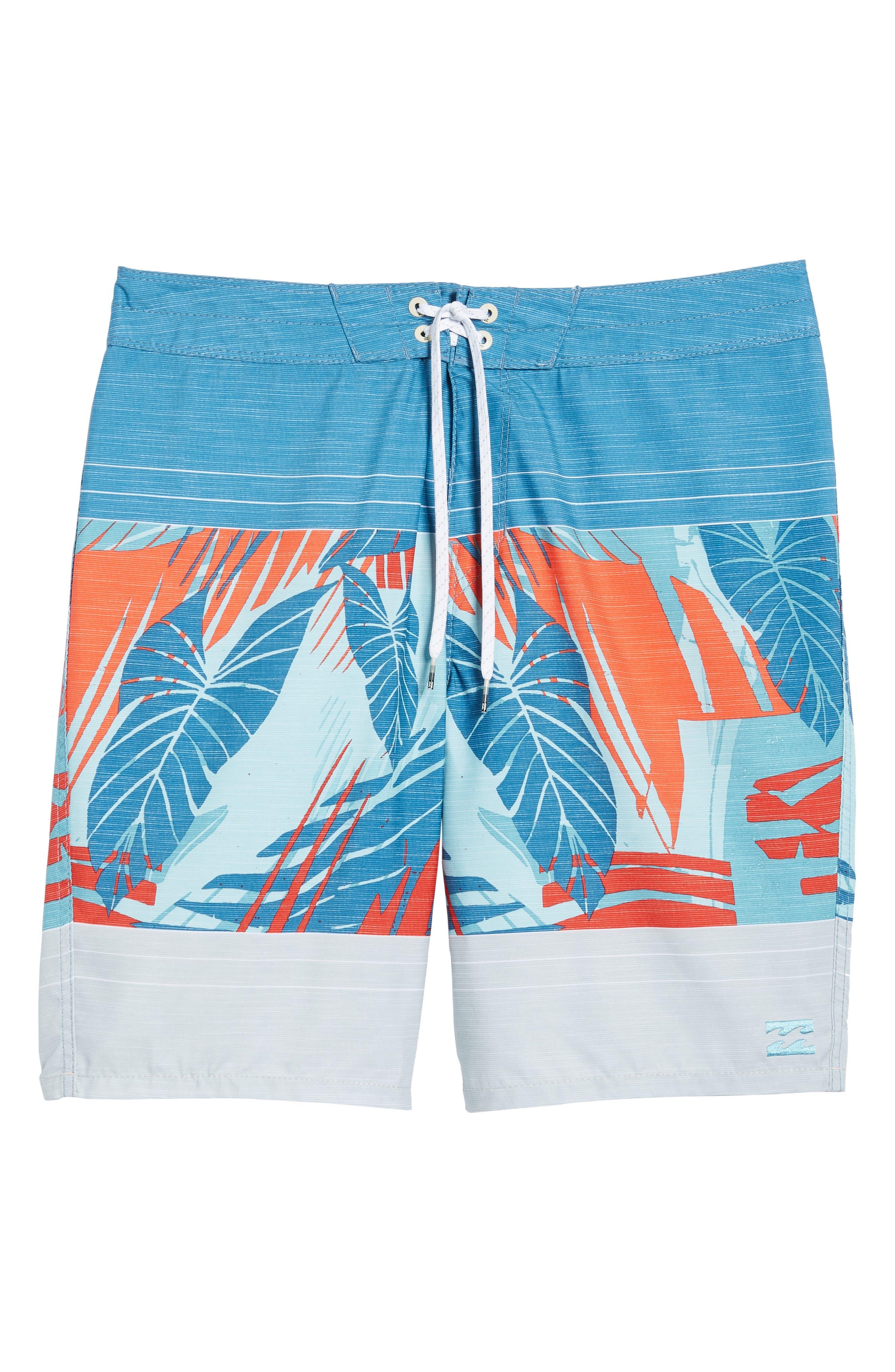 Sundays OG Board Shorts,                         Main,                         color, Stone/ Blue