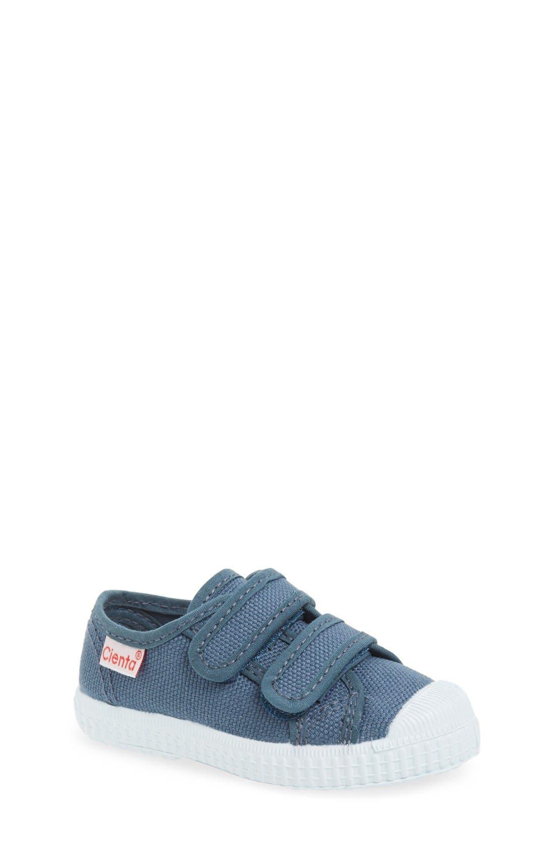 Canvas Sneaker,                             Main thumbnail 1, color,                             Grey