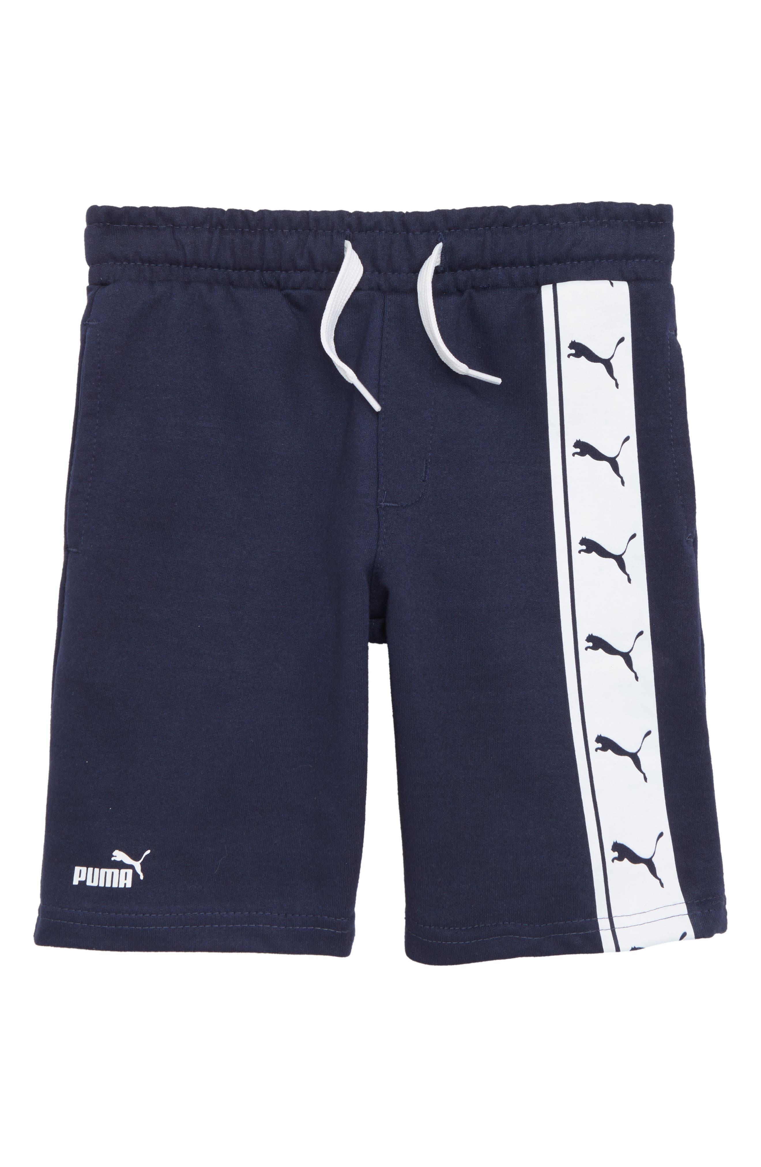 Stock Terry Shorts,                         Main,                         color, Pea Coat