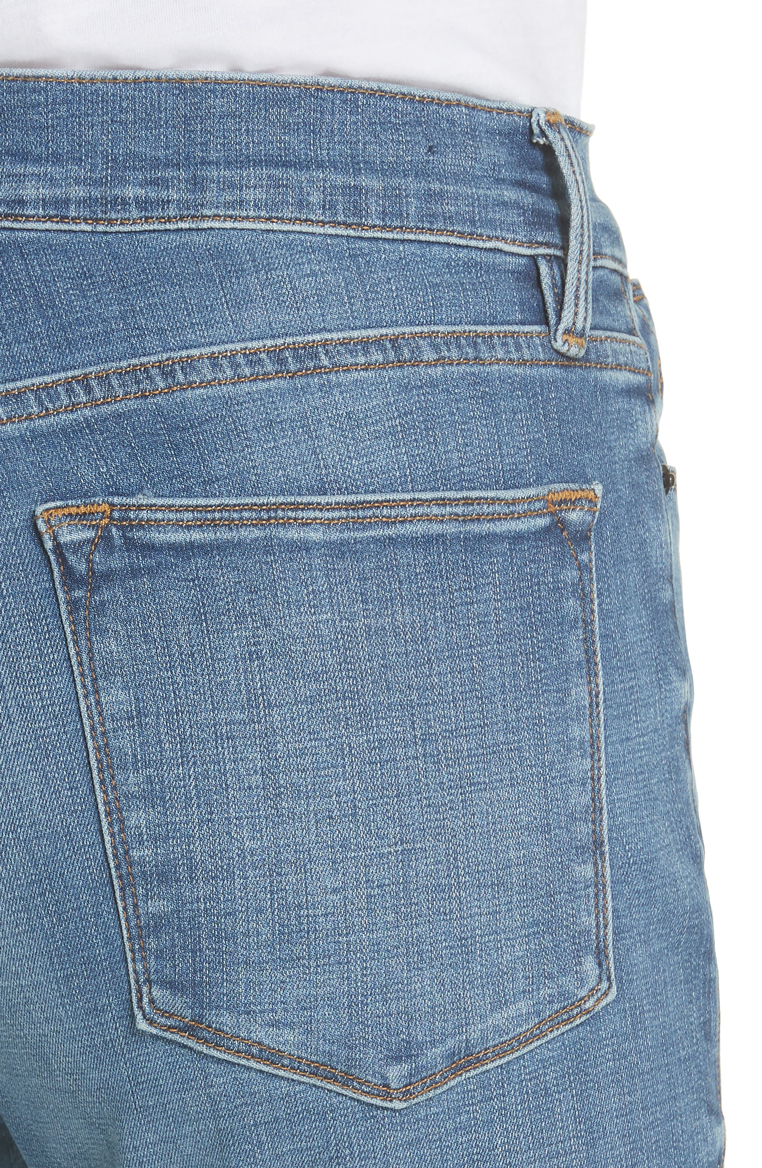 Alternate Image 4  - FRAME Le High Flare Jeans (Columbus)
