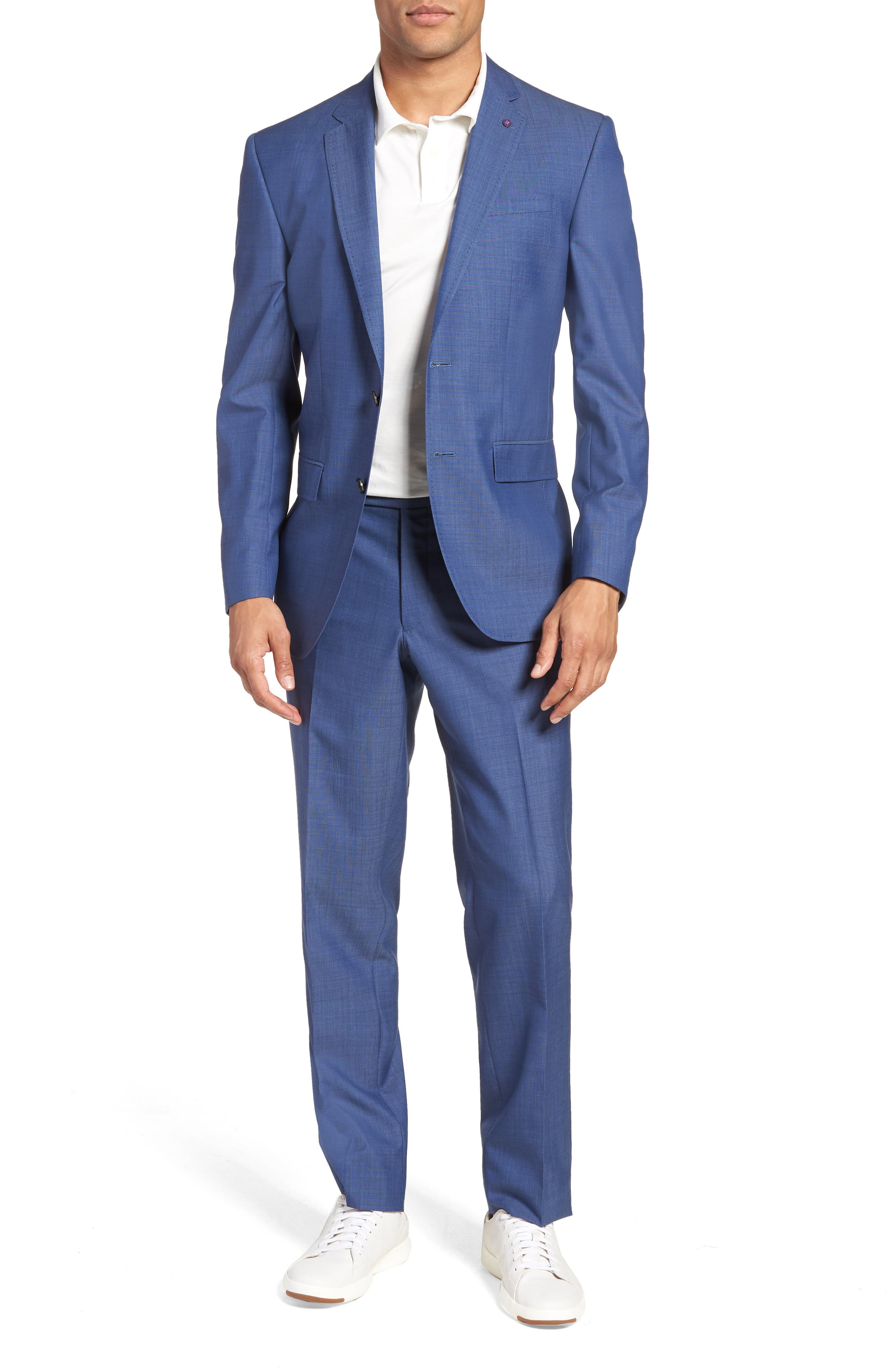 Ted Baker London Jay Trim Fit Wool Suit