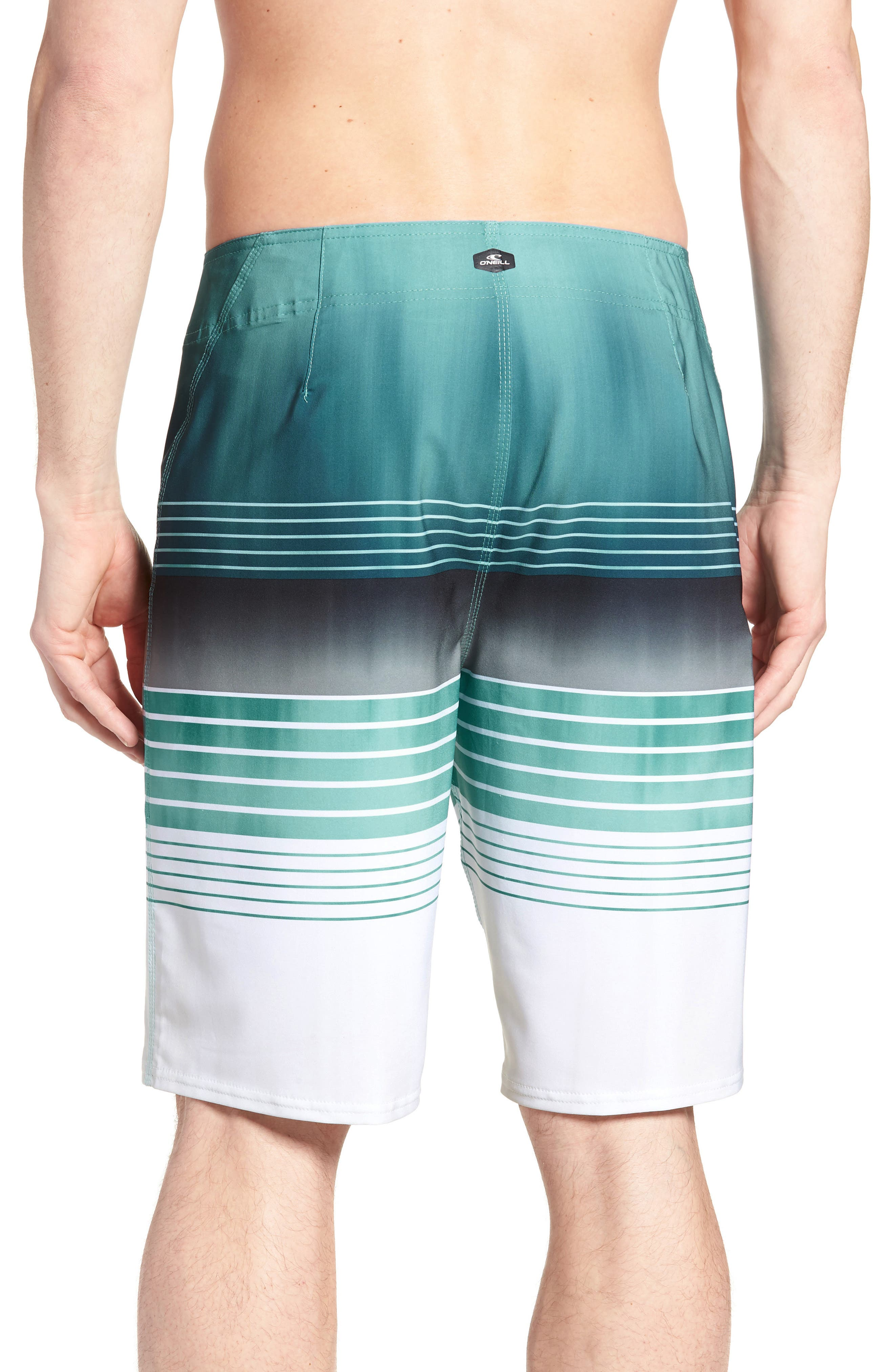 Hyperfreak Heist Board Shorts,                             Alternate thumbnail 2, color,                             Turquoise