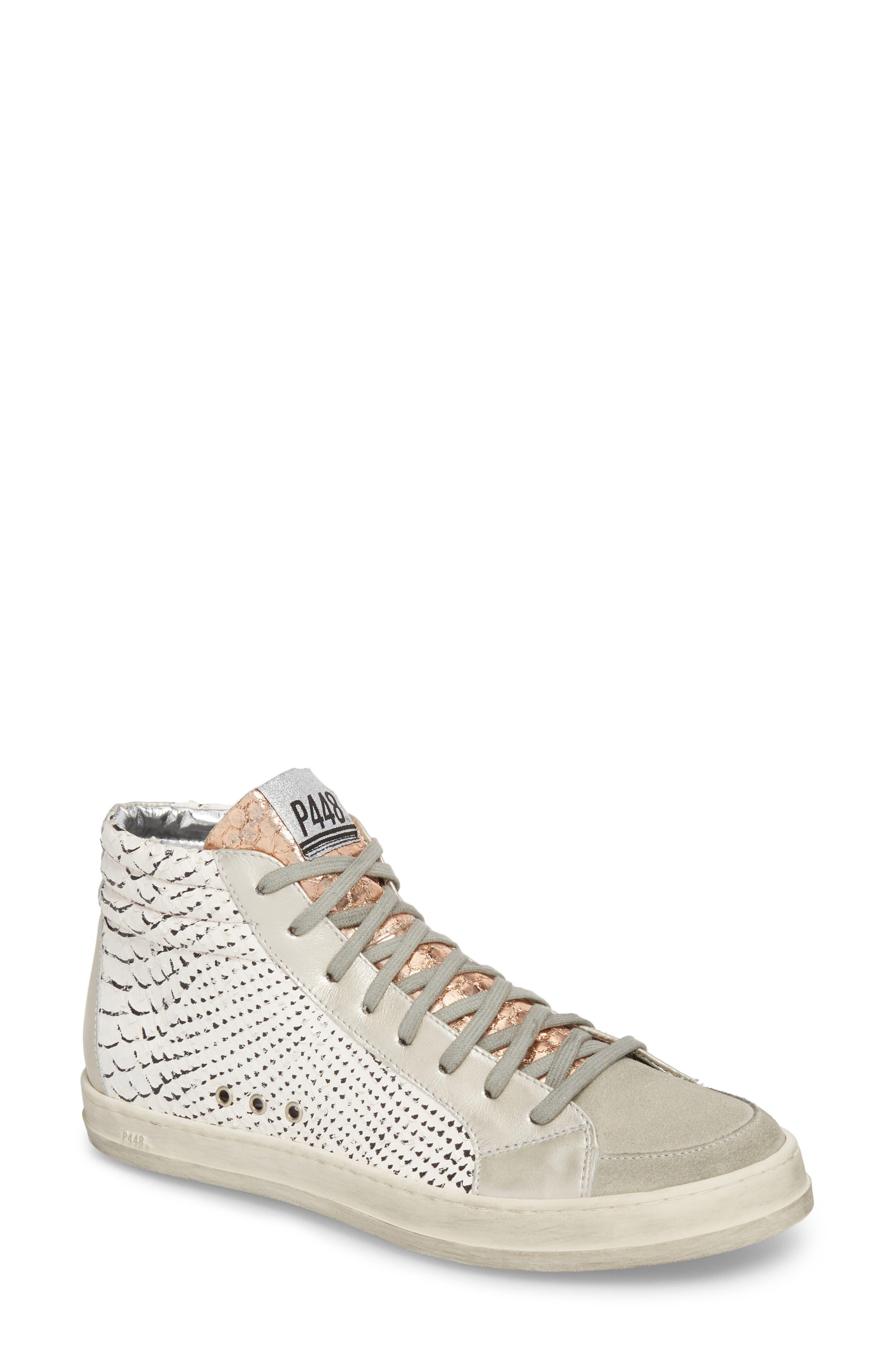 P448 Skate High Top Sneaker (Women)
