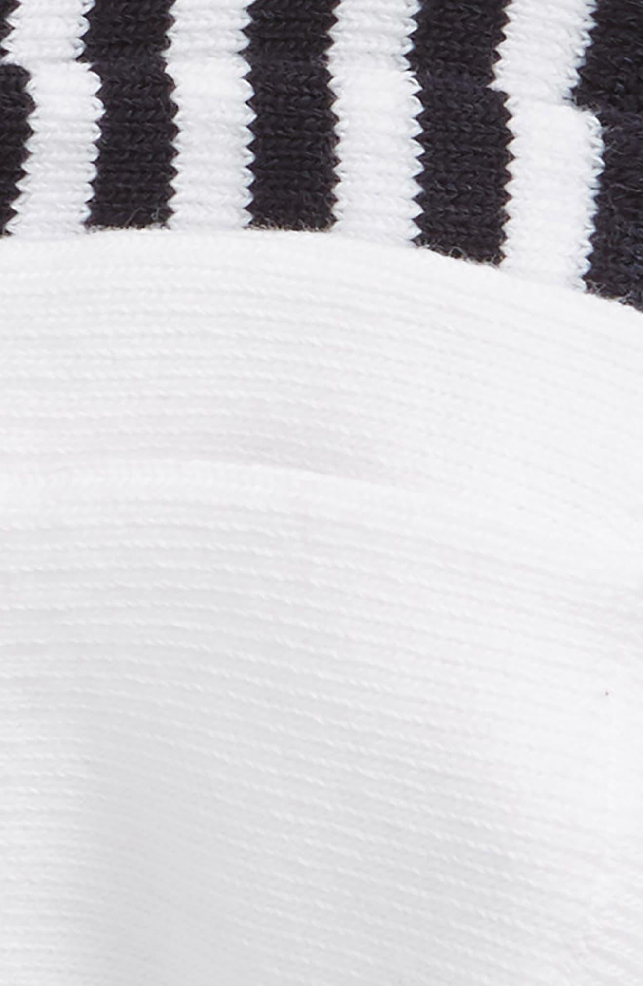 Assorted 2-Pack Liner Socks,                             Alternate thumbnail 2, color,                             Navy/ White