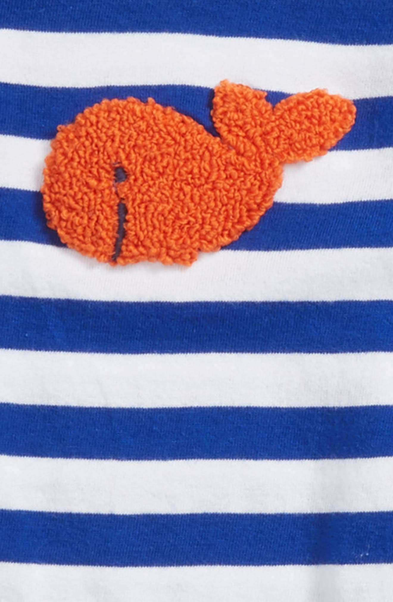 Goldfish Bodysuit & Pants Set,                             Alternate thumbnail 2, color,                             Blue Surf Goldfish