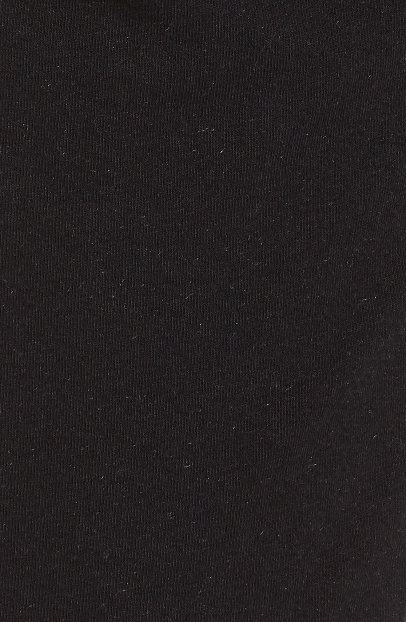 Lowsen Split Hem Sweatpants,                             Alternate thumbnail 6, color,                             Black