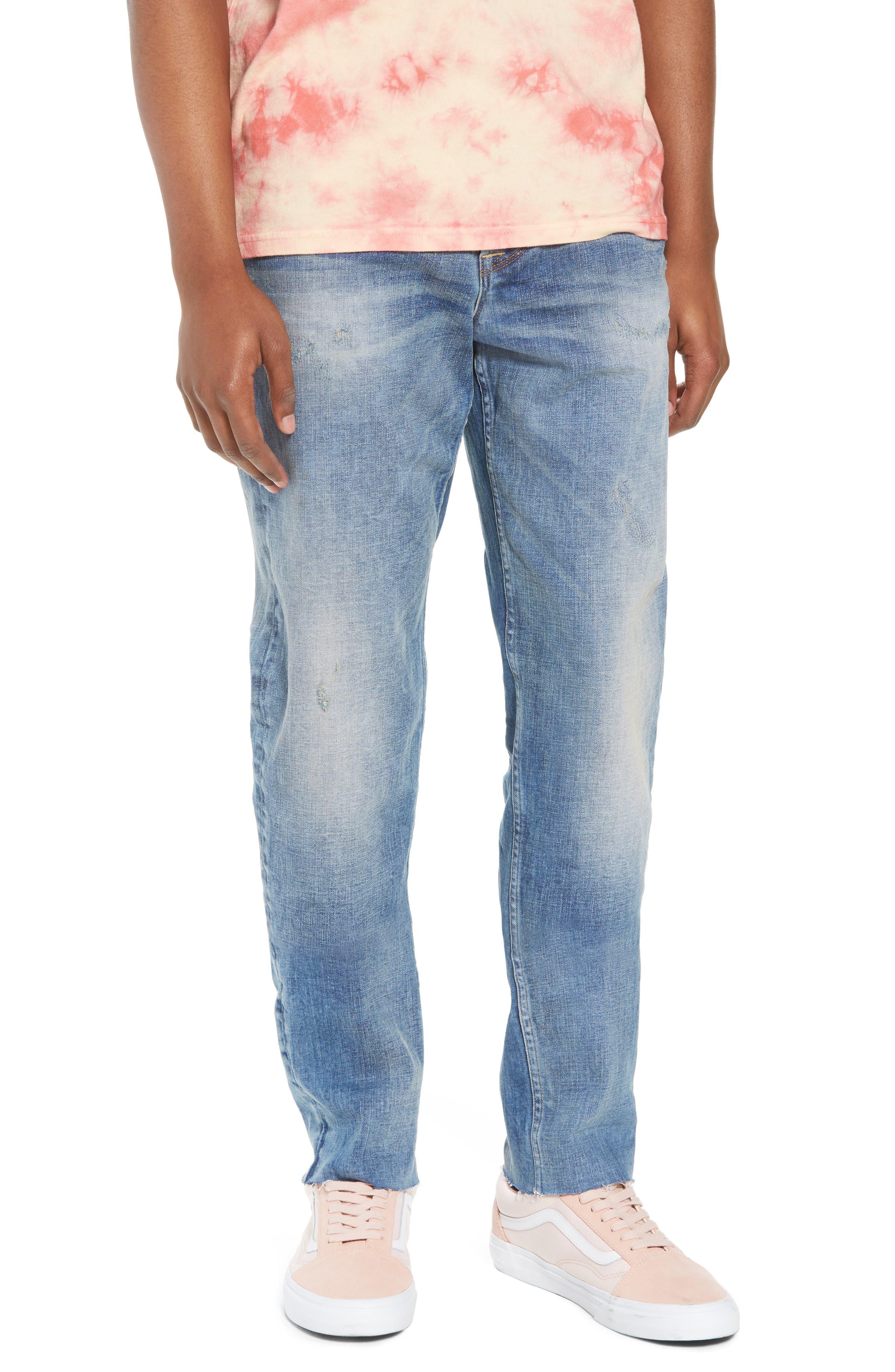 Hudson Jeans Sartor Slouchy Skinny Fit Jeans (Los Feliz)