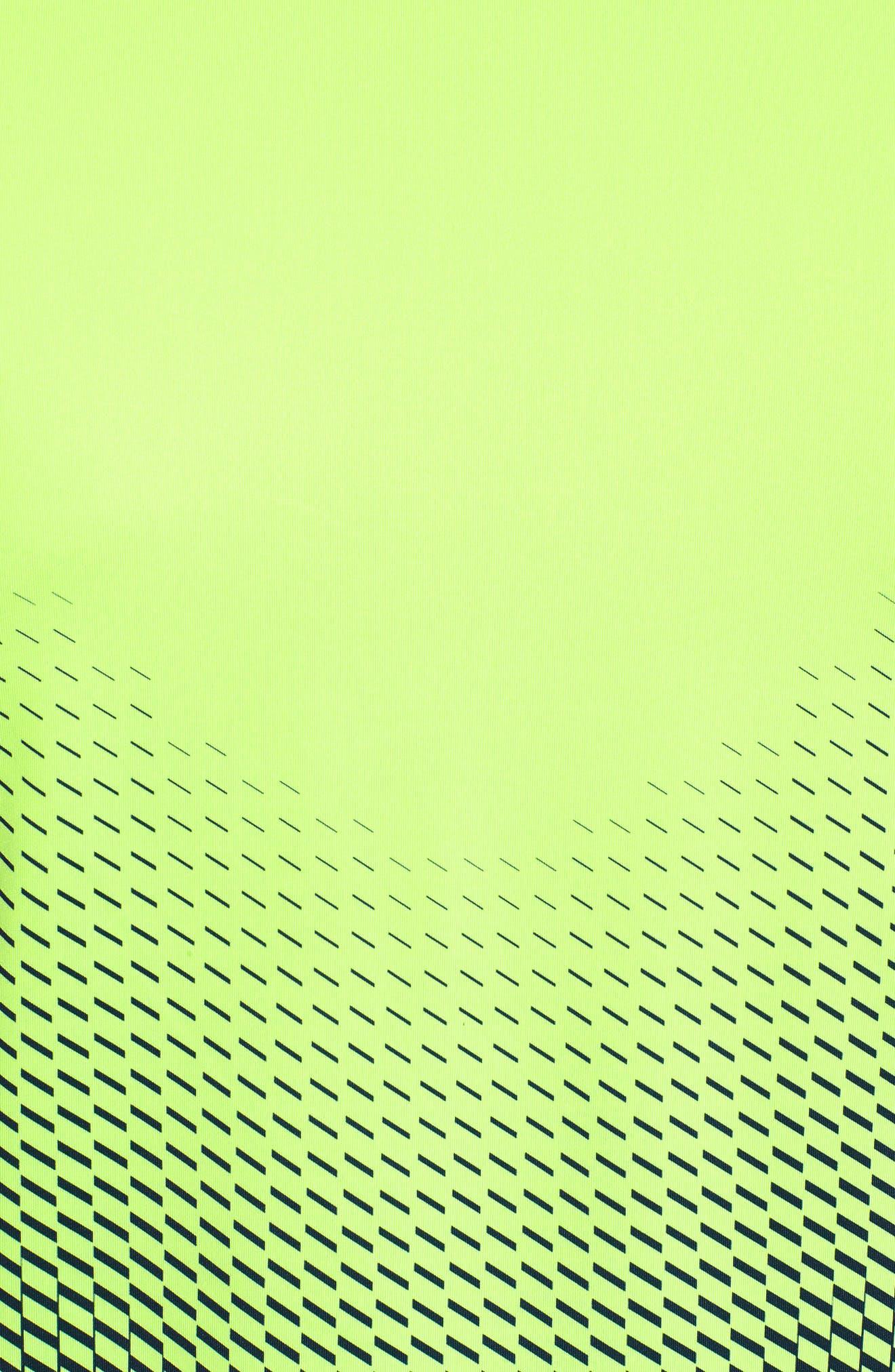 MK1 Dash Crewneck T-Shirt,                             Alternate thumbnail 5, color,                             Lime / Academy / Graphite
