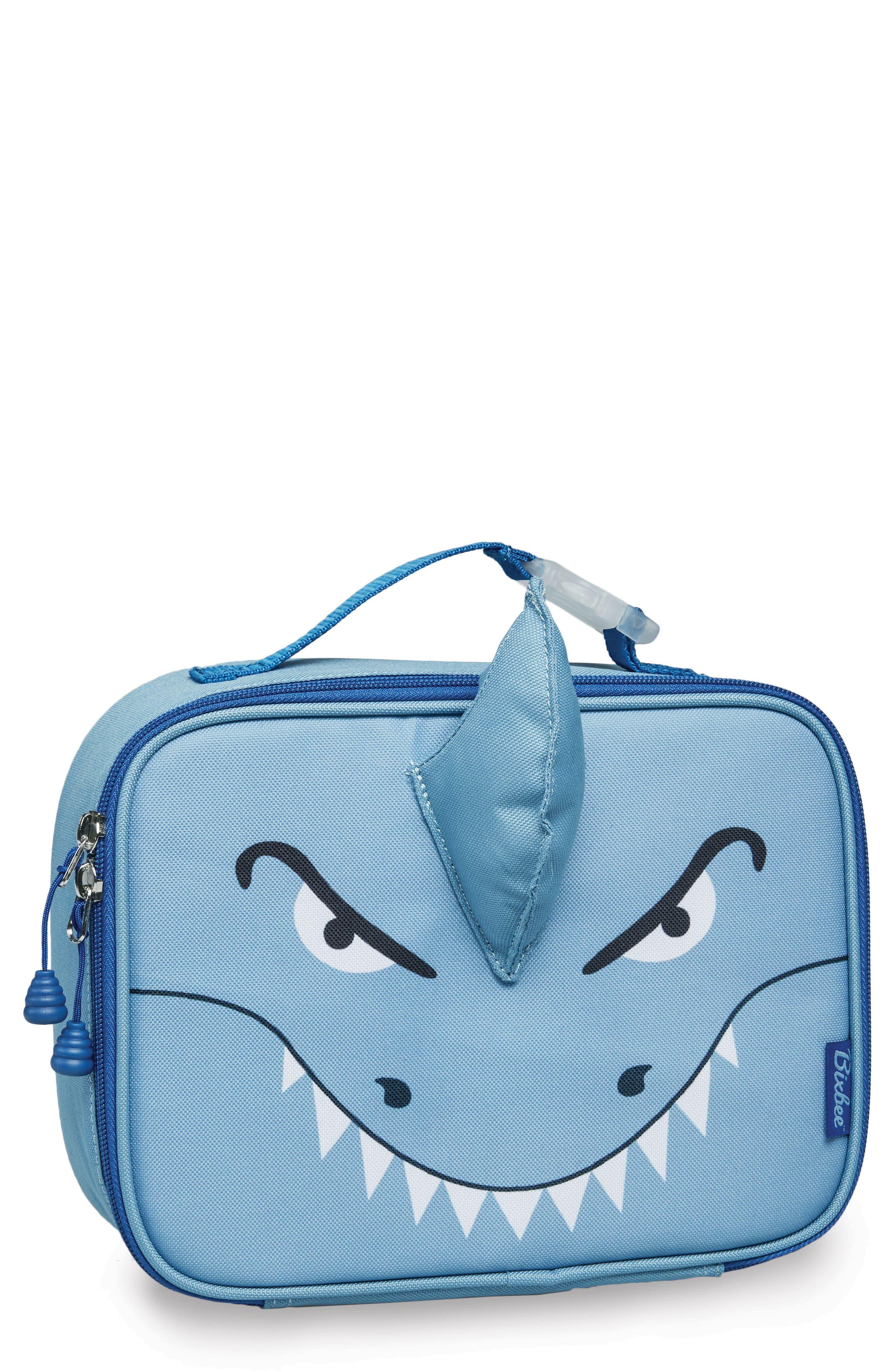 Bixbee Shark Water Resistant Lunchbox (Kids)