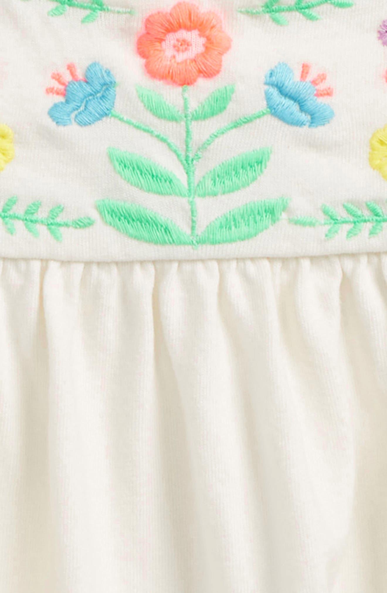 Embroidered Joke Top,                             Alternate thumbnail 2, color,                             Ivory/ Multi