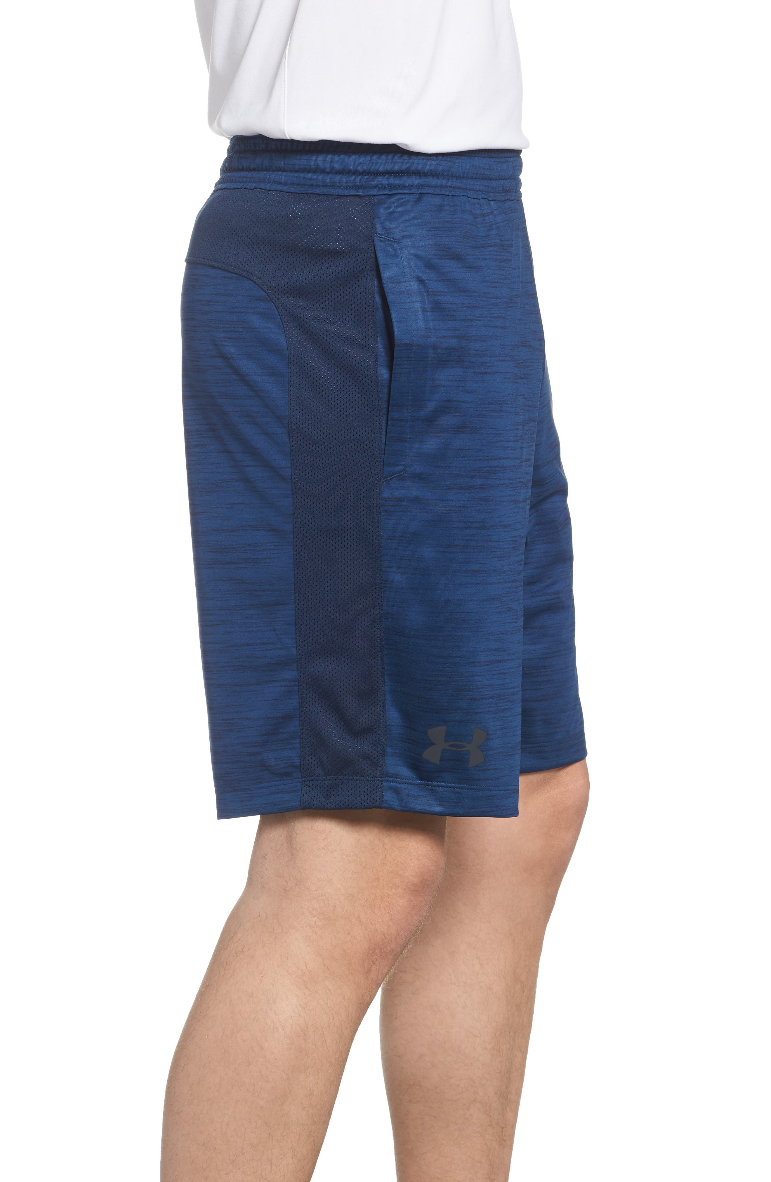 MK1 Twist Shorts,                             Alternate thumbnail 3, color,                             Academy/ Stealth Greh