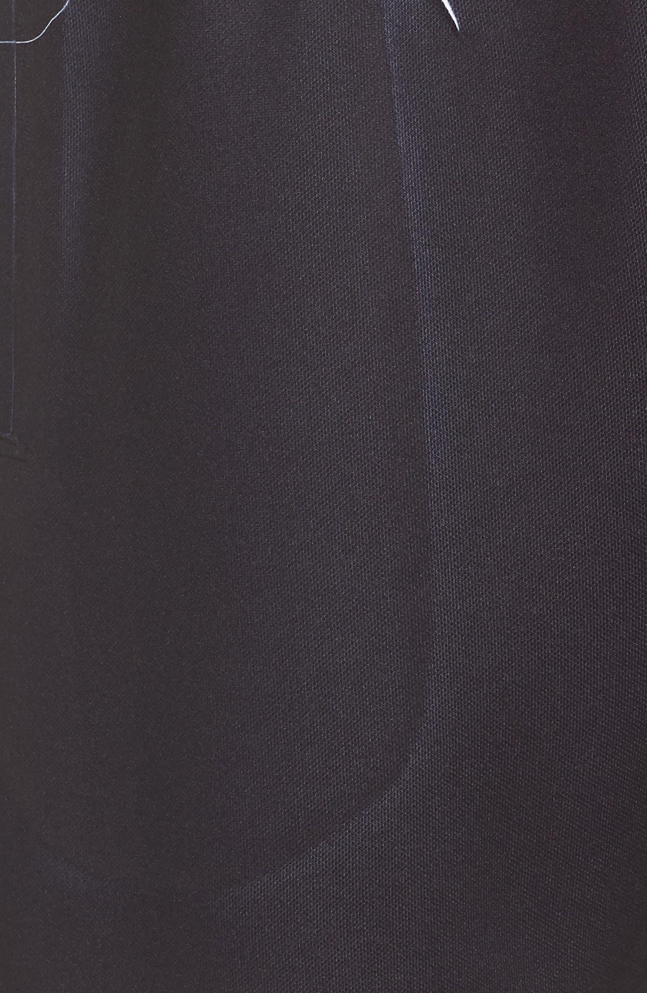 Shorts,                             Alternate thumbnail 6, color,                             Black/ White