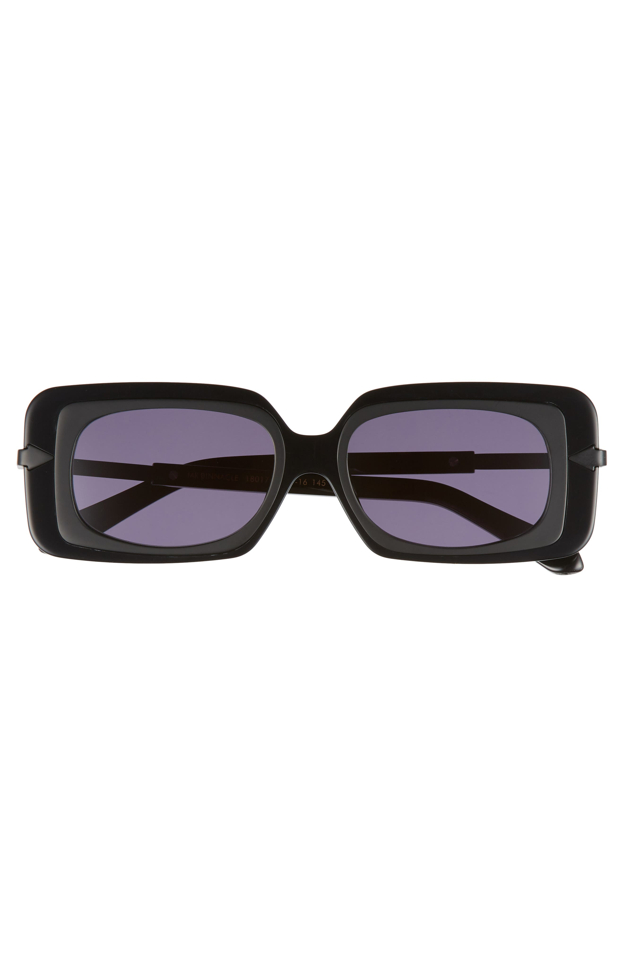Mr. Binnacle 51mm Sunglasses,                             Alternate thumbnail 3, color,                             Black